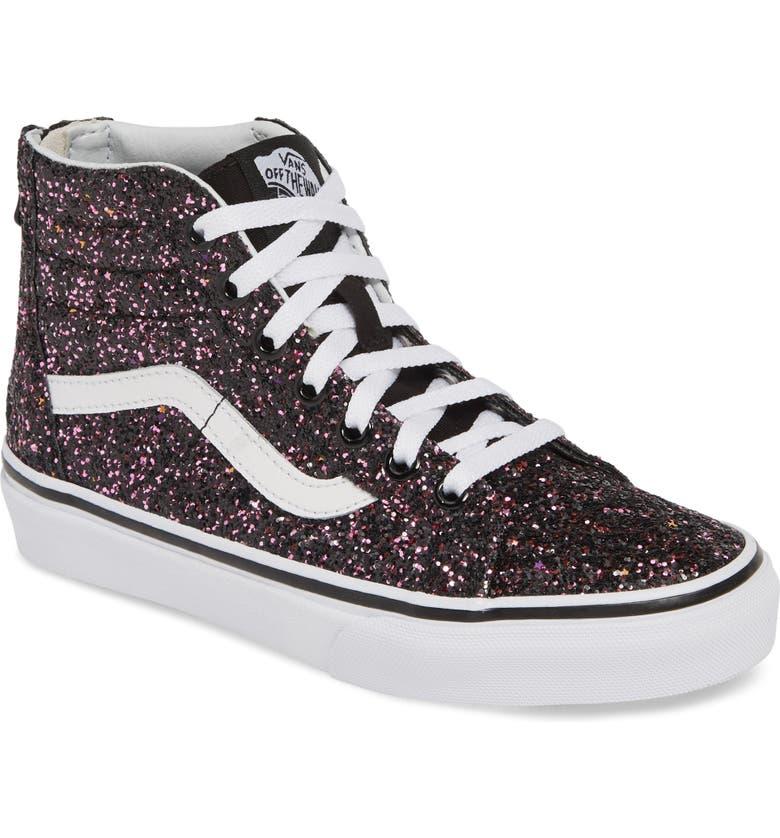4ce92a81bcc7d Vans Sk8-Hi Zip Sneaker (Baby