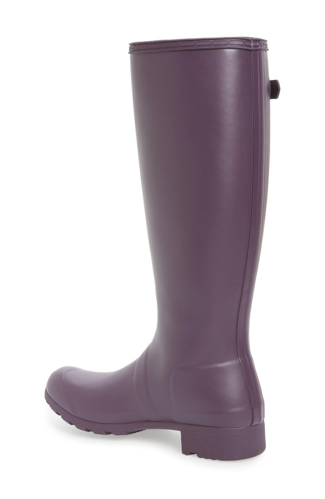 'Tour' Packable Rain Boot,                             Alternate thumbnail 46, color,
