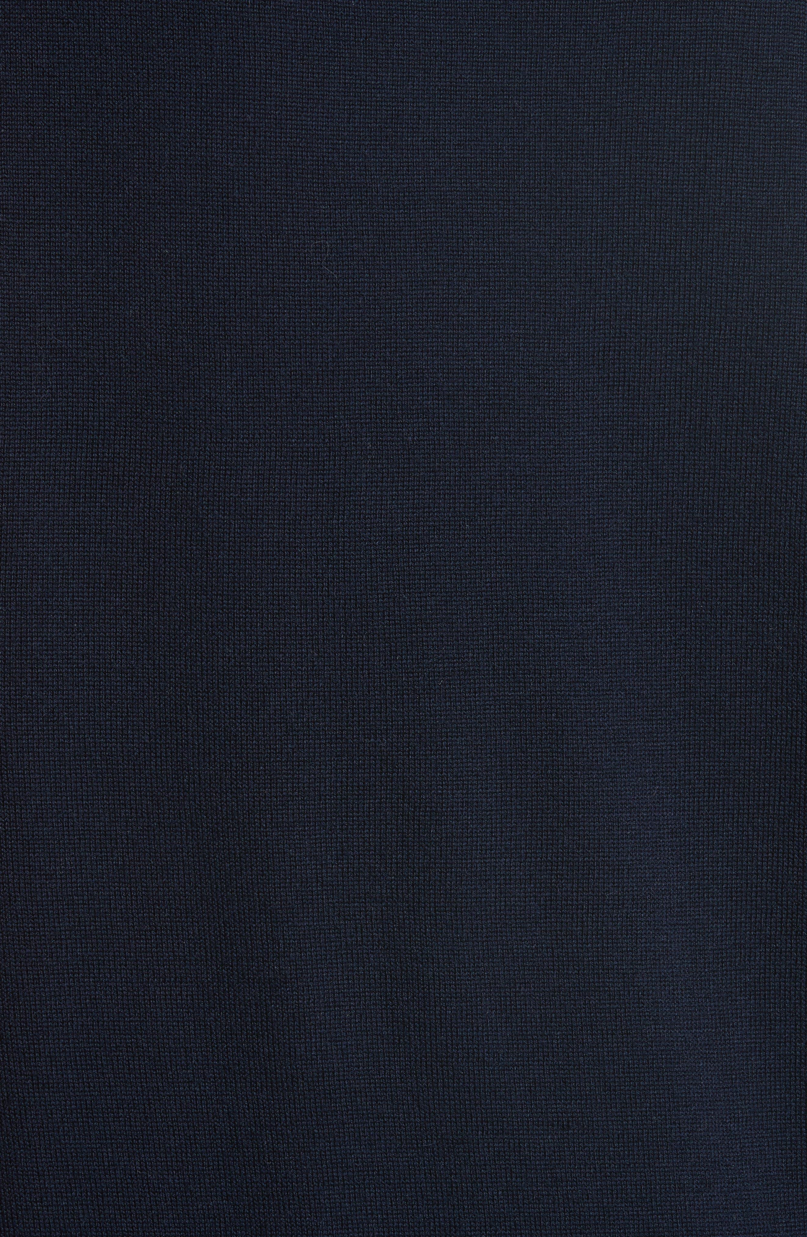être cécile Boyfriend Knit Merino Wool Sweater,                             Alternate thumbnail 5, color,                             400