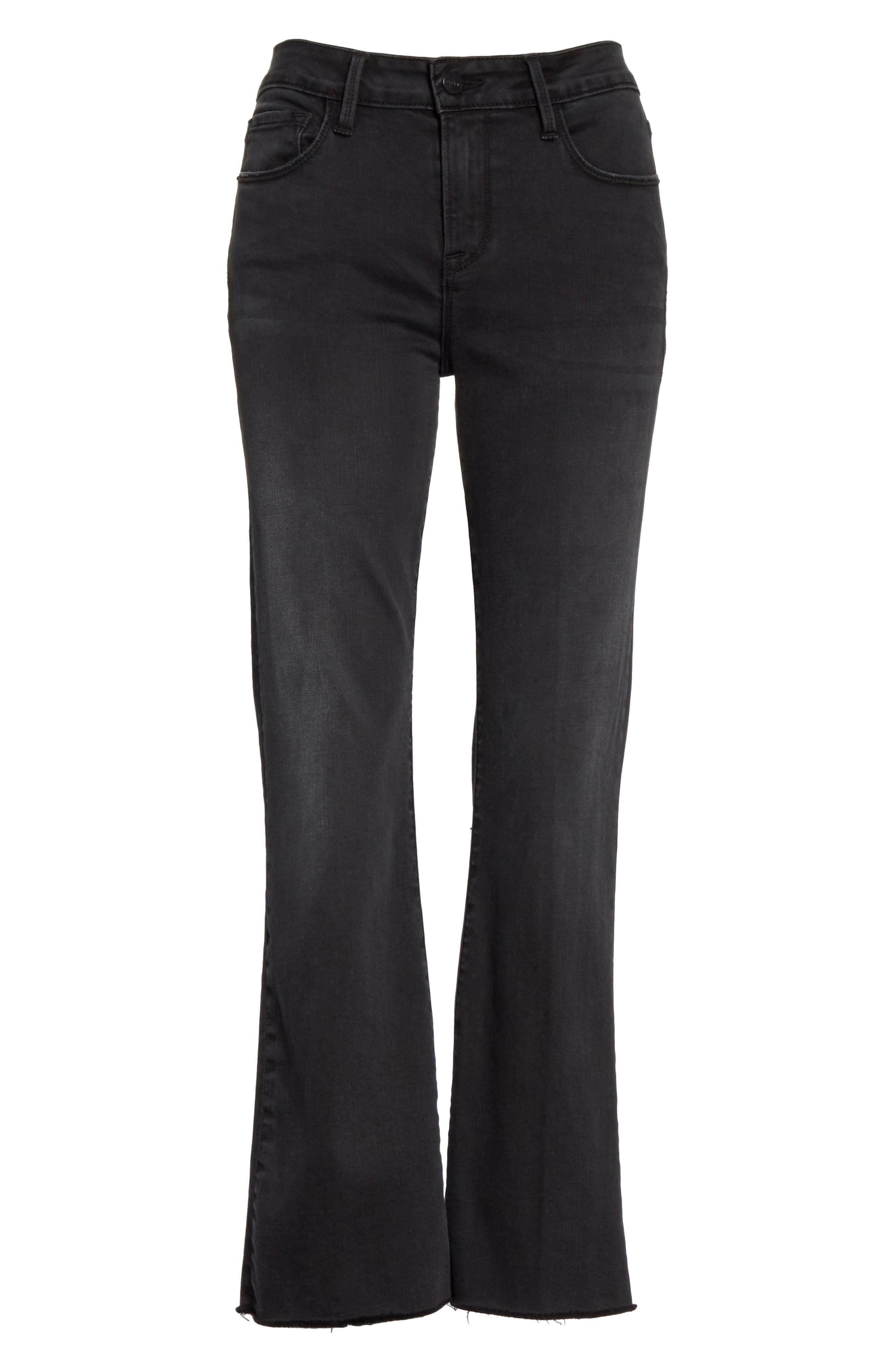 Le Crop Mini Boot Jeans,                             Alternate thumbnail 6, color,                             KERRY