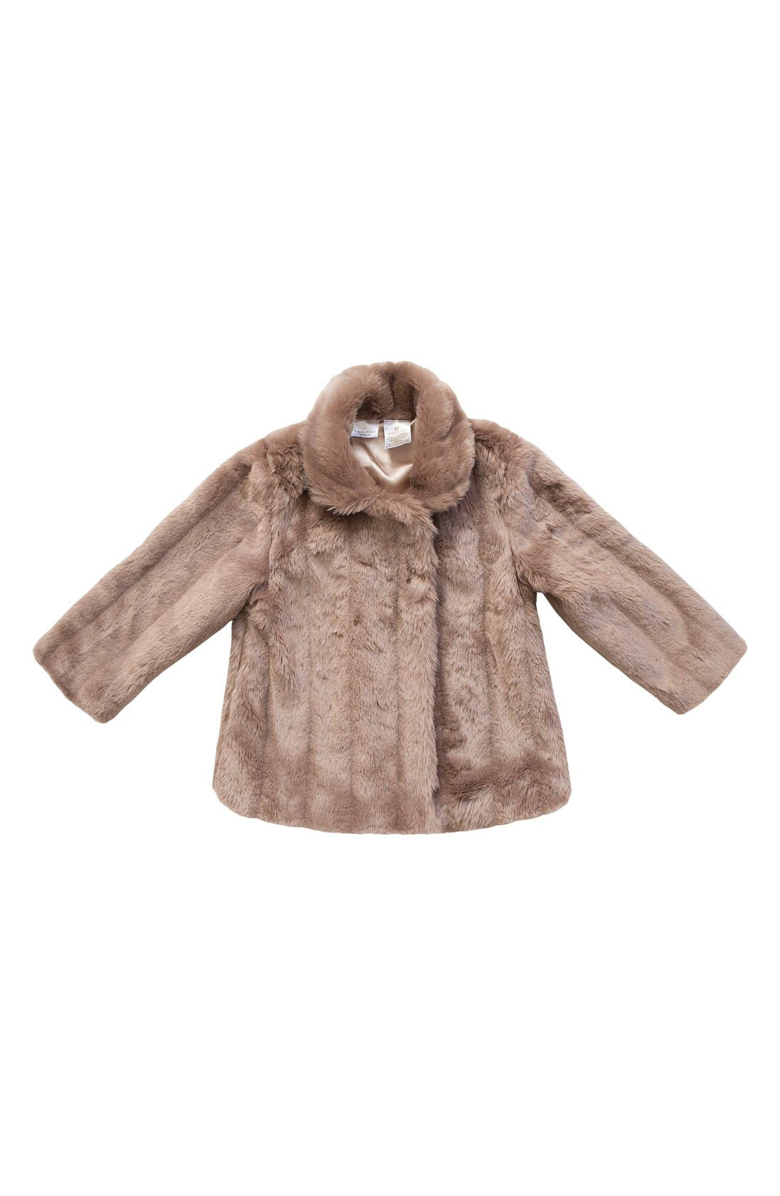 KardashianKids FauxMinkFur Coat, Main, color, 219