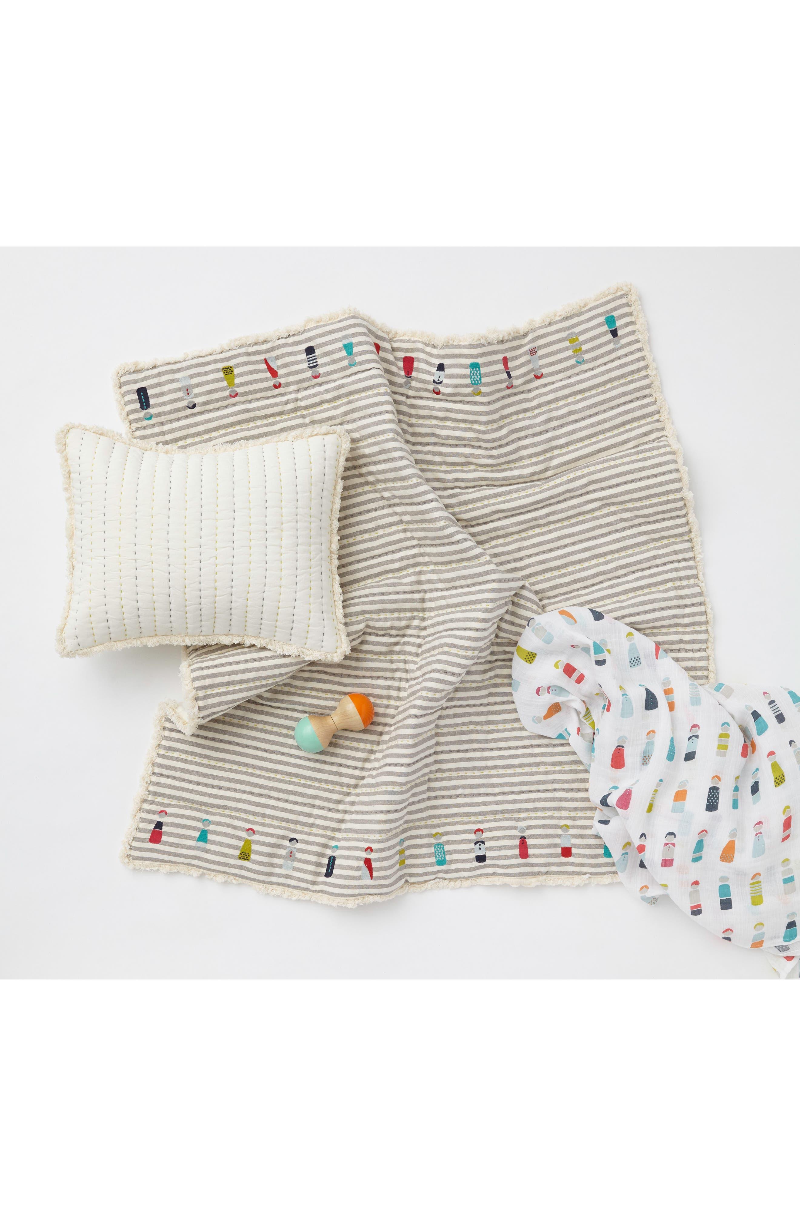 Little Peeps Play Blanket,                             Alternate thumbnail 3, color,                             GREY