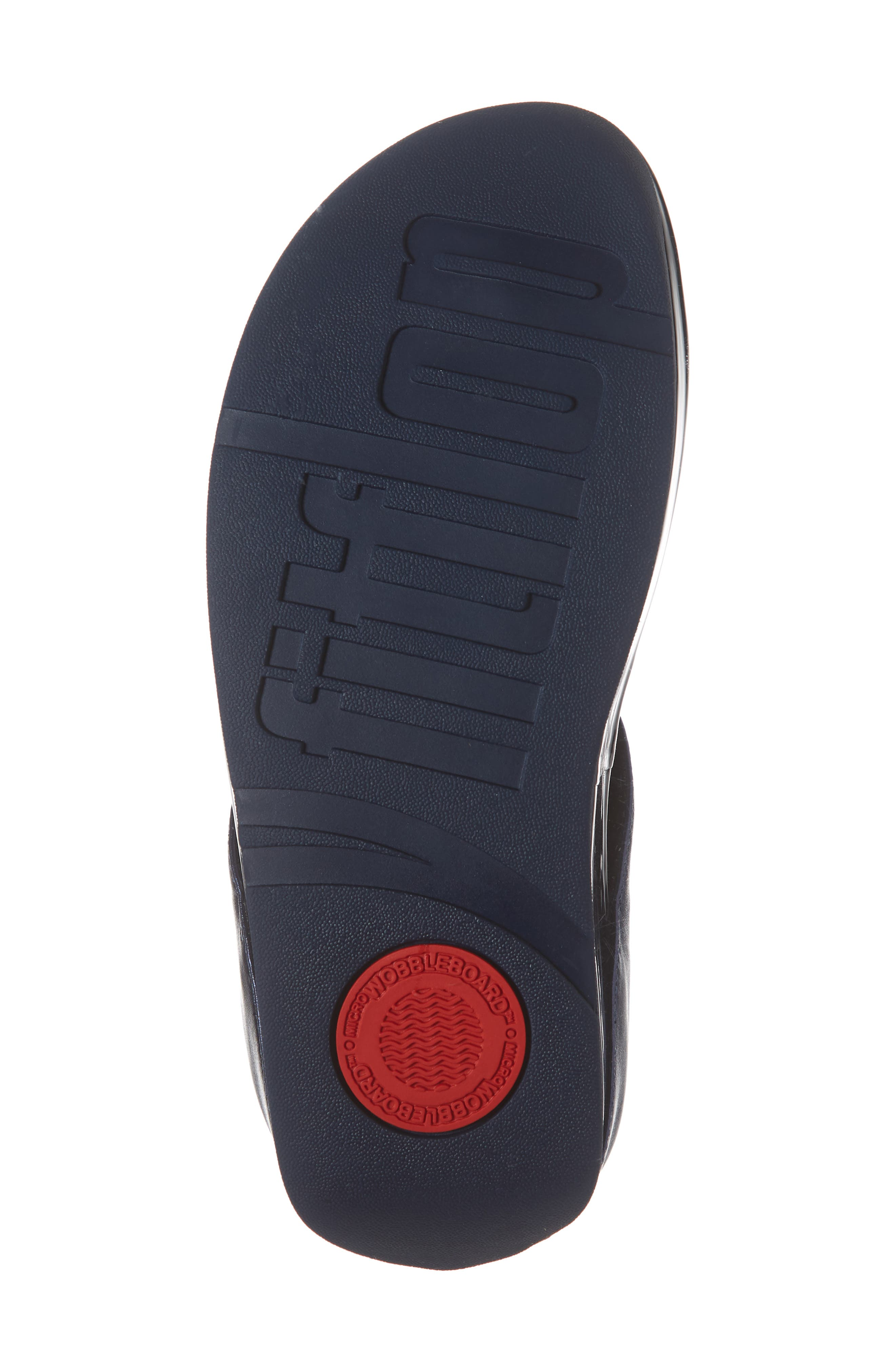 Rumba Flip Flop,                             Alternate thumbnail 6, color,                             METEOR BLUE LEATHER