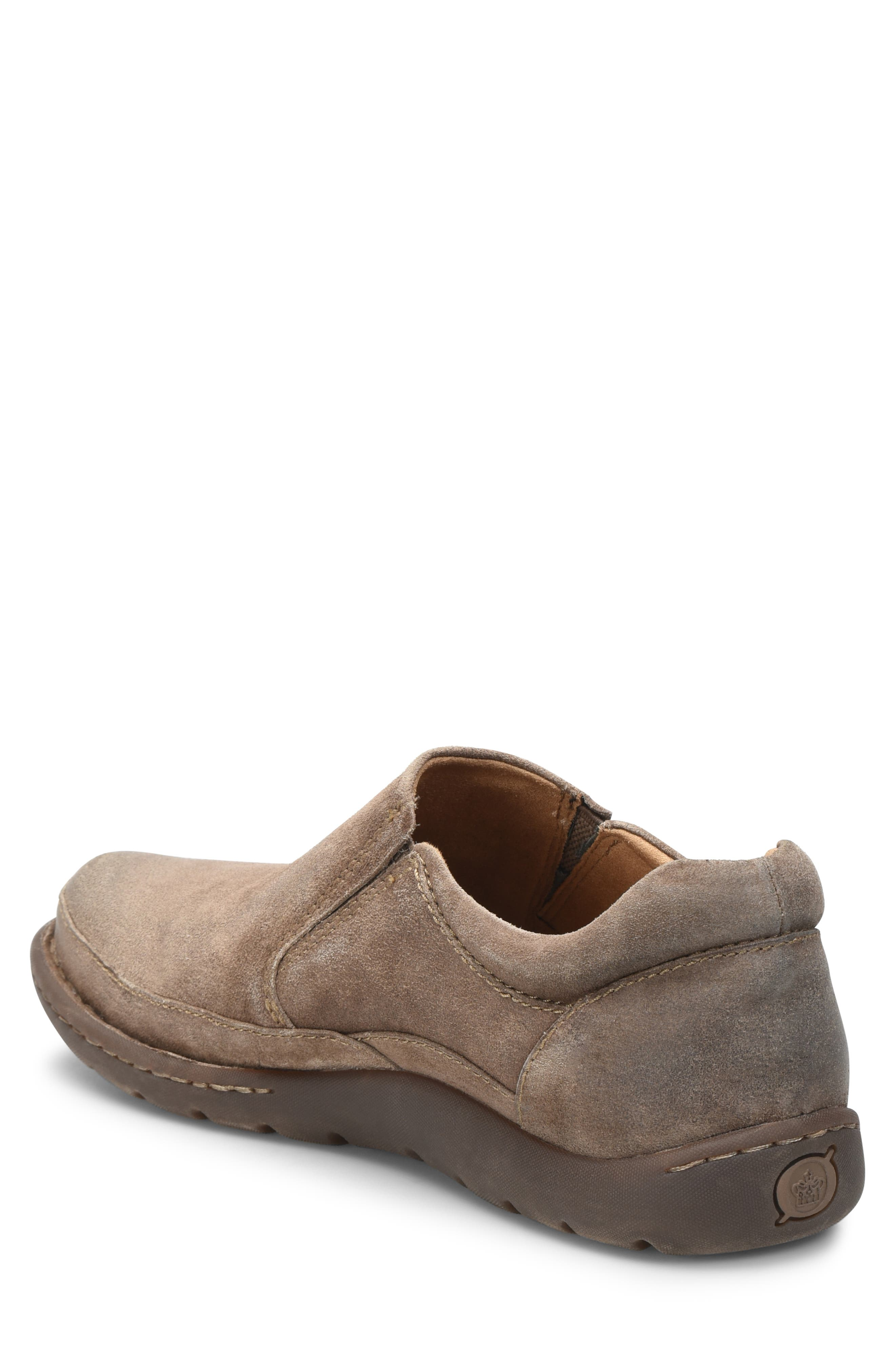 Nigel Slip-On,                             Alternate thumbnail 2, color,                             TAUPE LEATHER