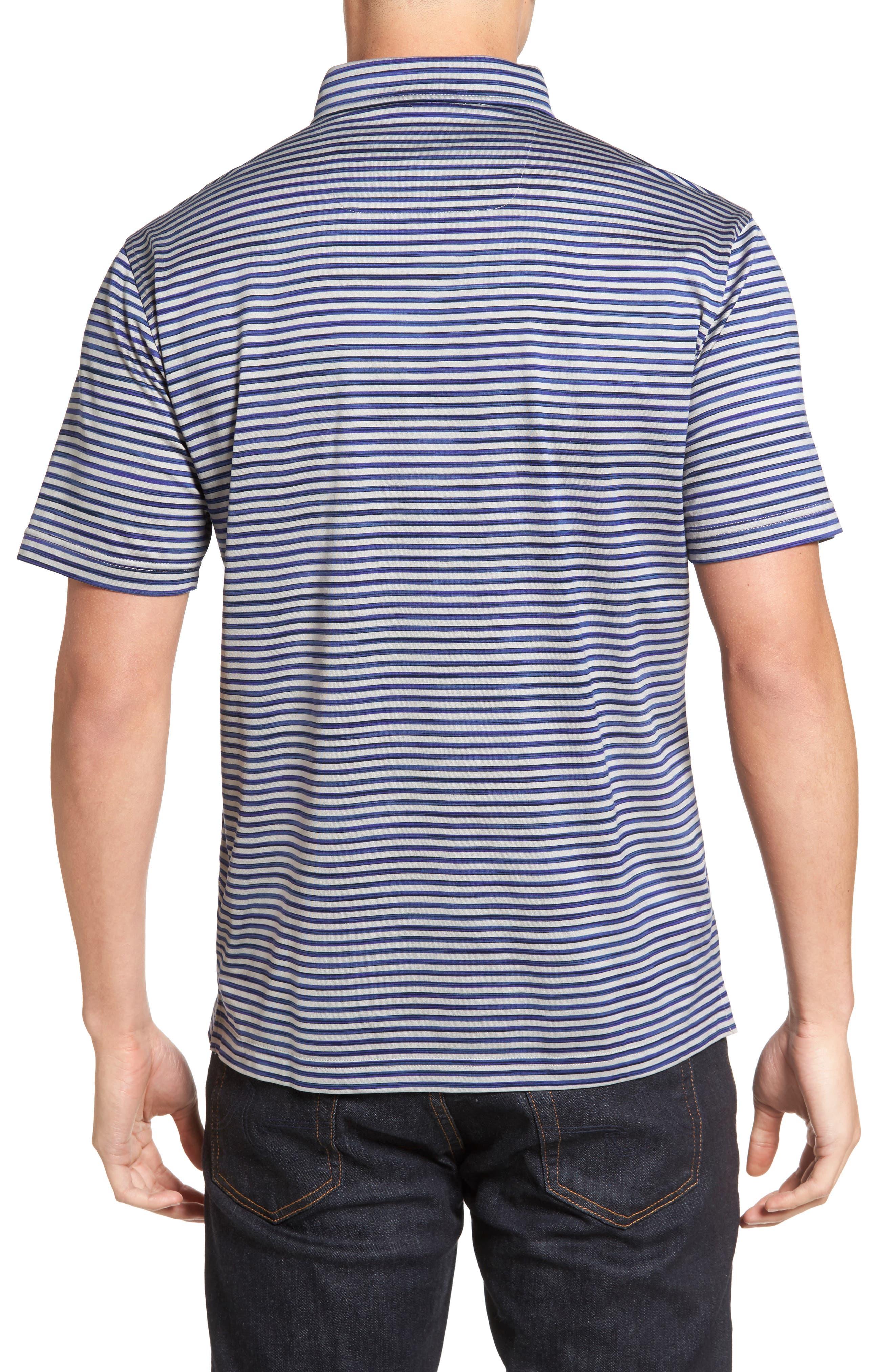 Stripe Jersey Polo,                             Alternate thumbnail 2, color,                             020