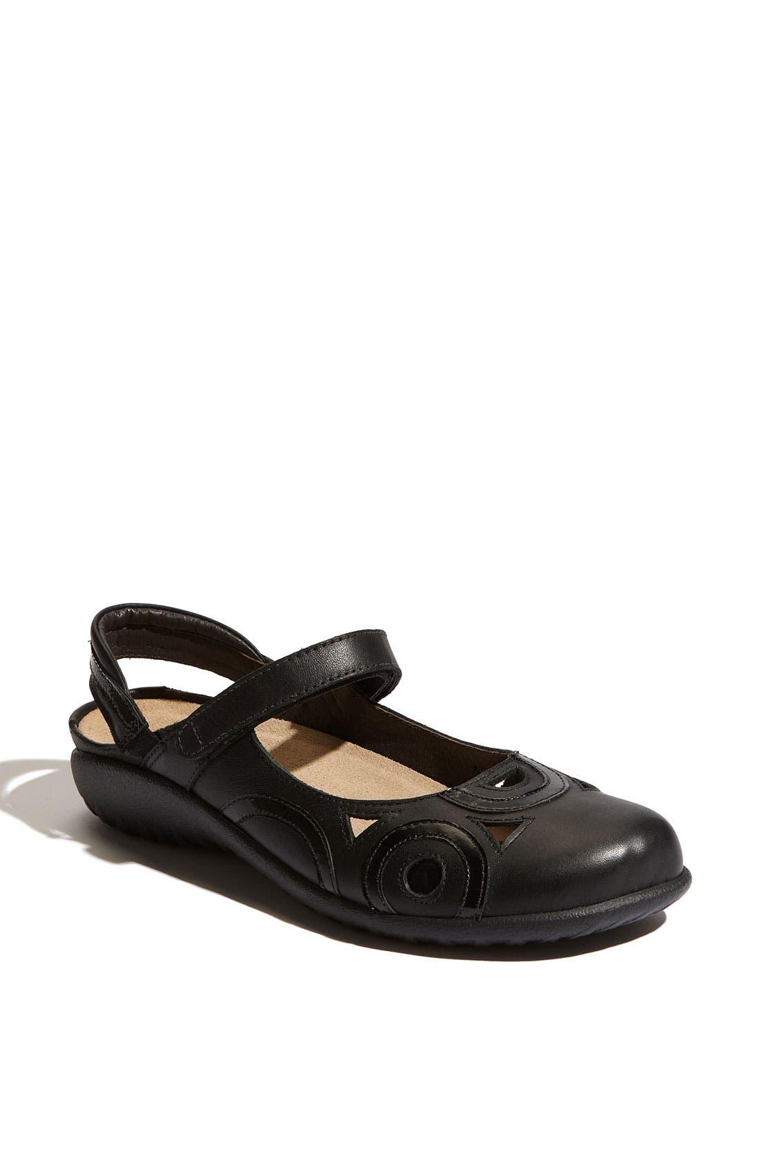 'Rongo' Slip-On,                         Main,                         color, JET BLACK