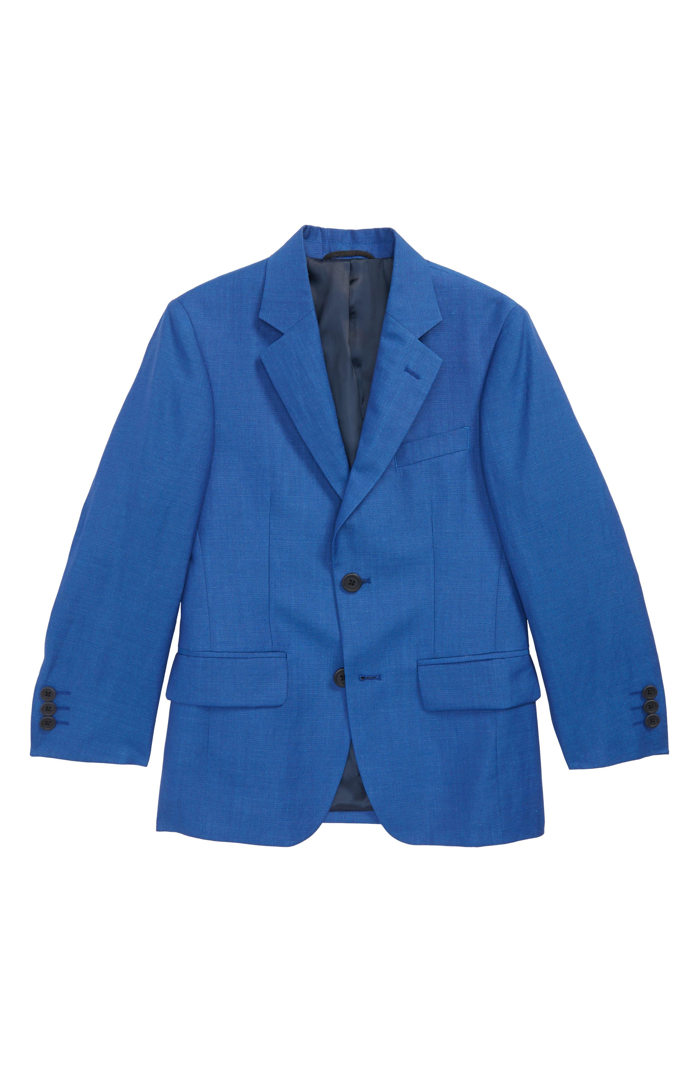 Wool & Linen Sport Coat,                         Main,                         color, 422