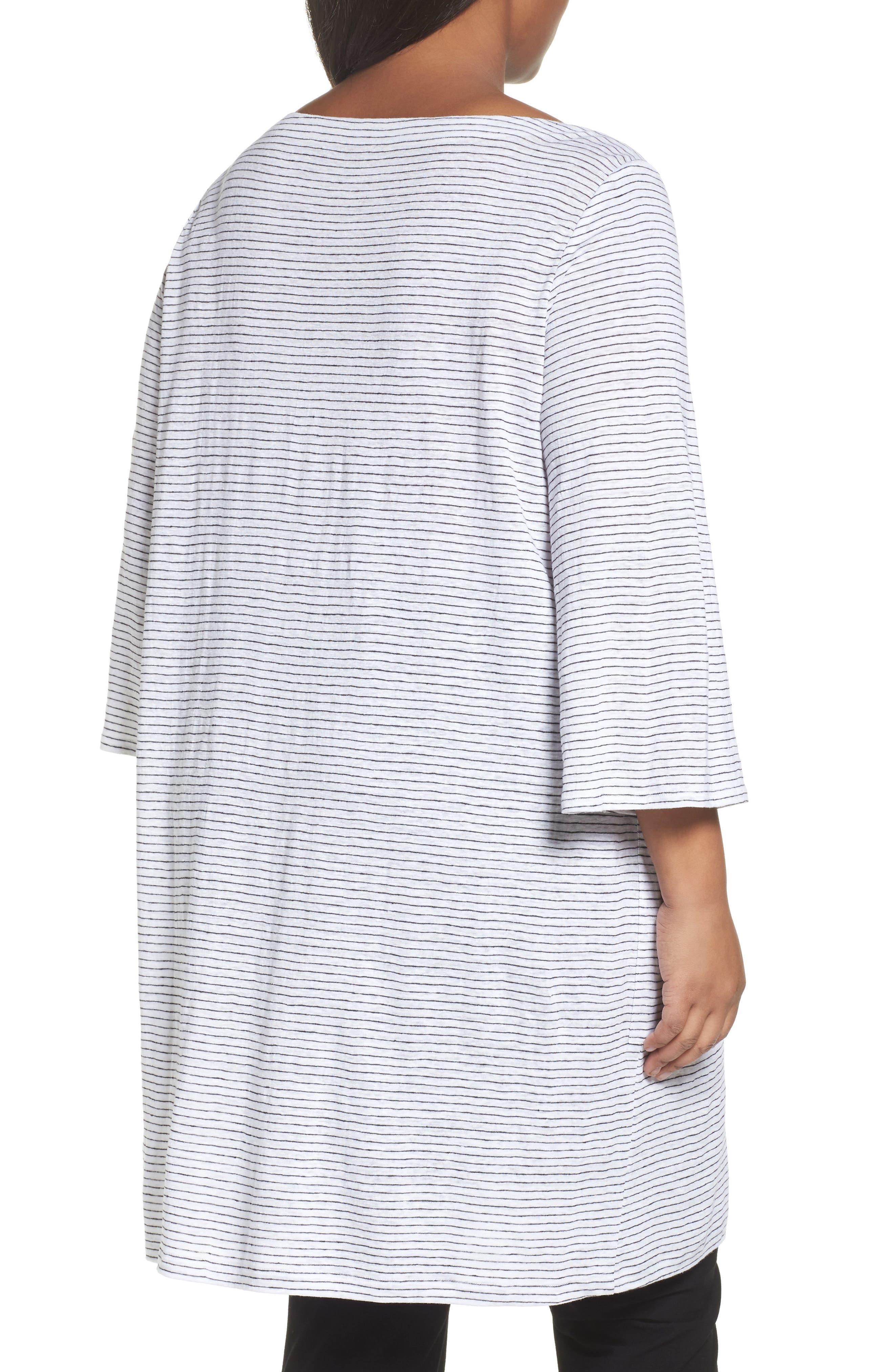 Organic Linen Shift Dress,                             Alternate thumbnail 2, color,                             120