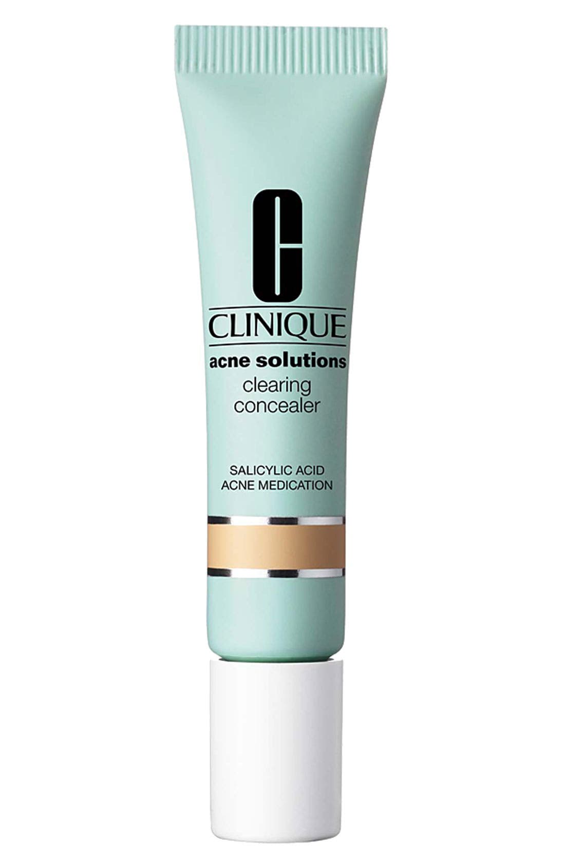 Acne Solutions Clearing Concealer,                             Main thumbnail 1, color,                             SHADE 01