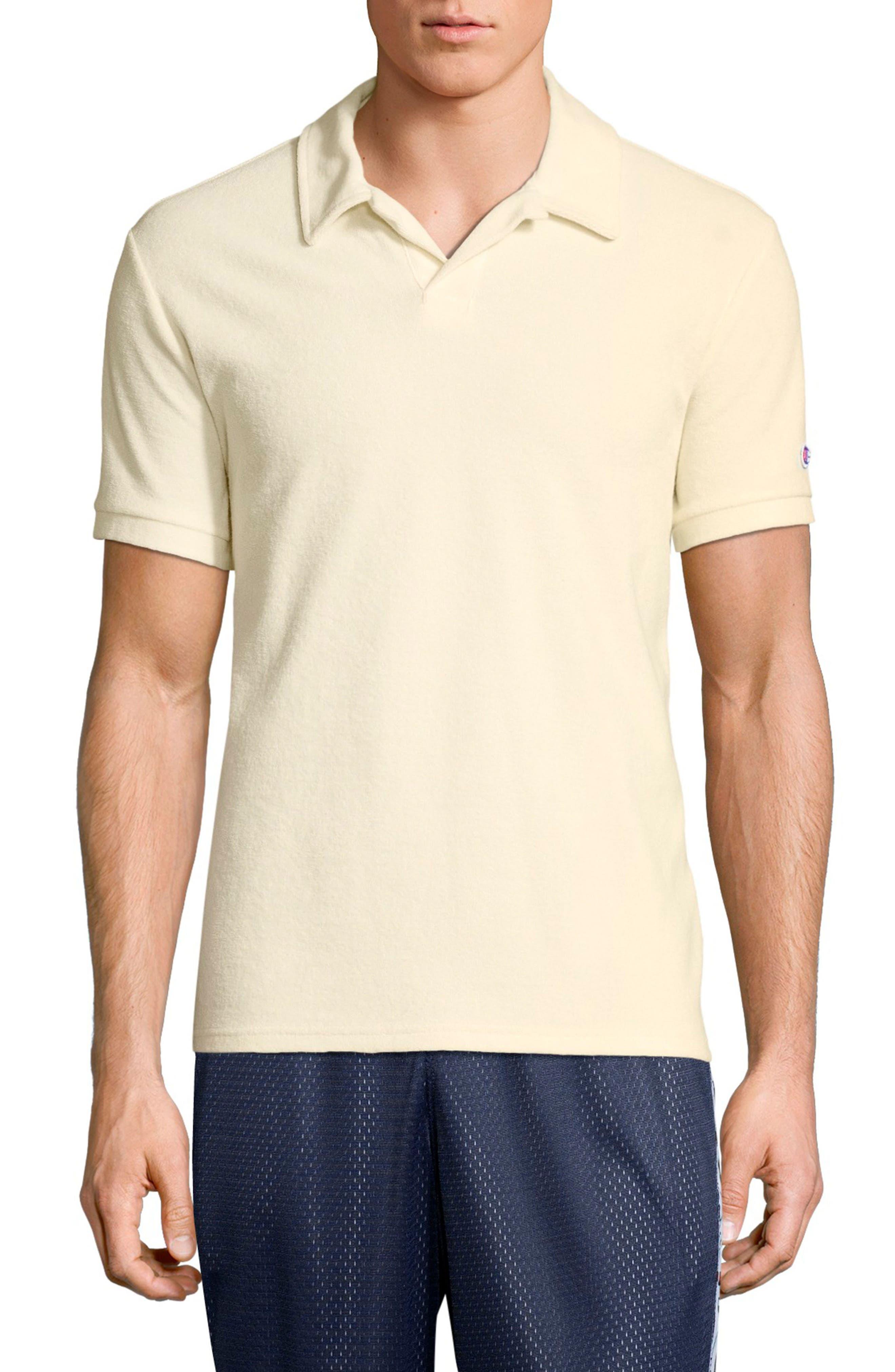Sponge Terry Crewneck Sweatshirt,                             Main thumbnail 1, color,                             WHITE ALABASTER