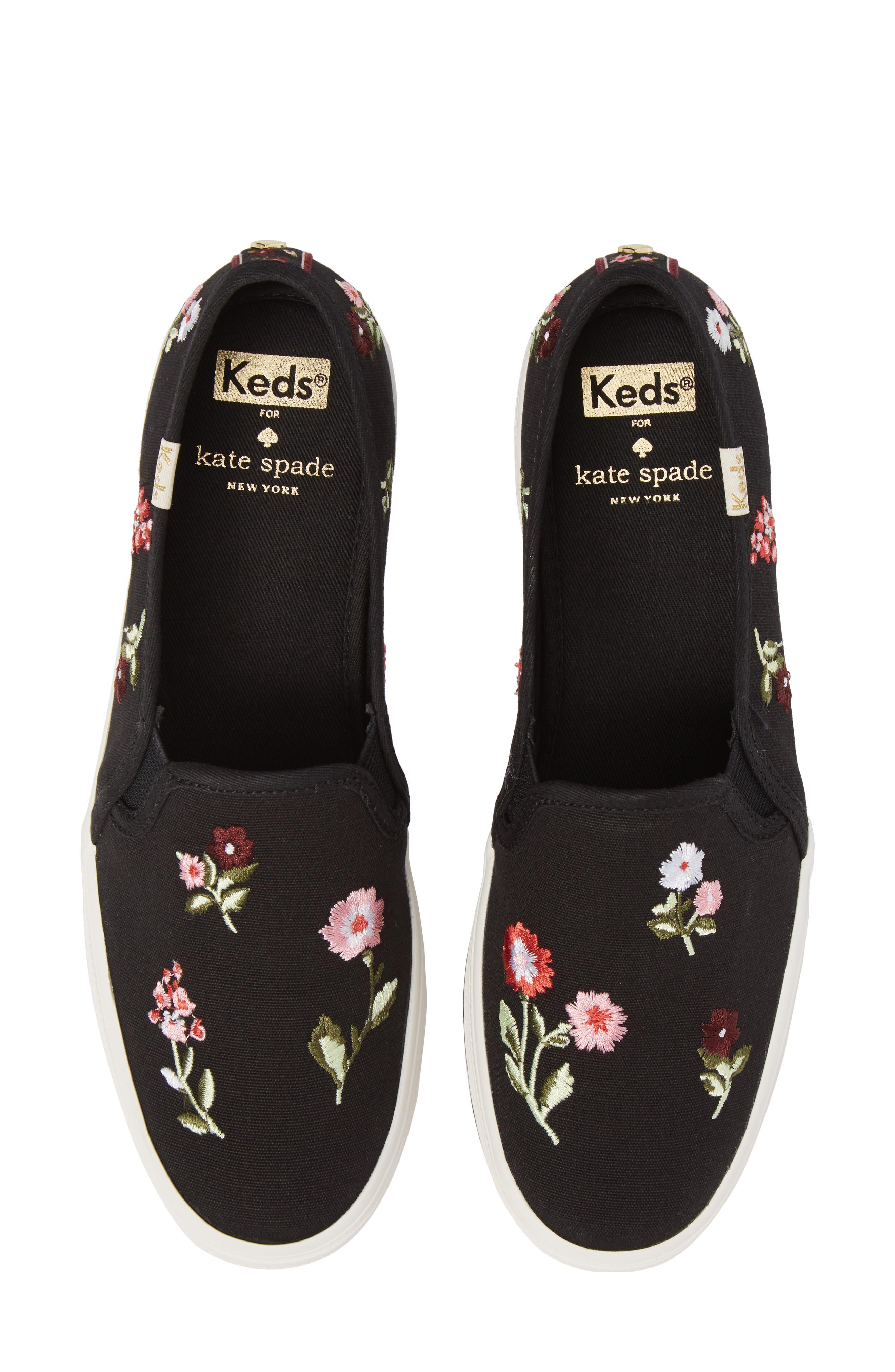 Keds<sup>®</sup> x kate spade Triple Decker Slip-On Sneaker,                             Alternate thumbnail 10, color,