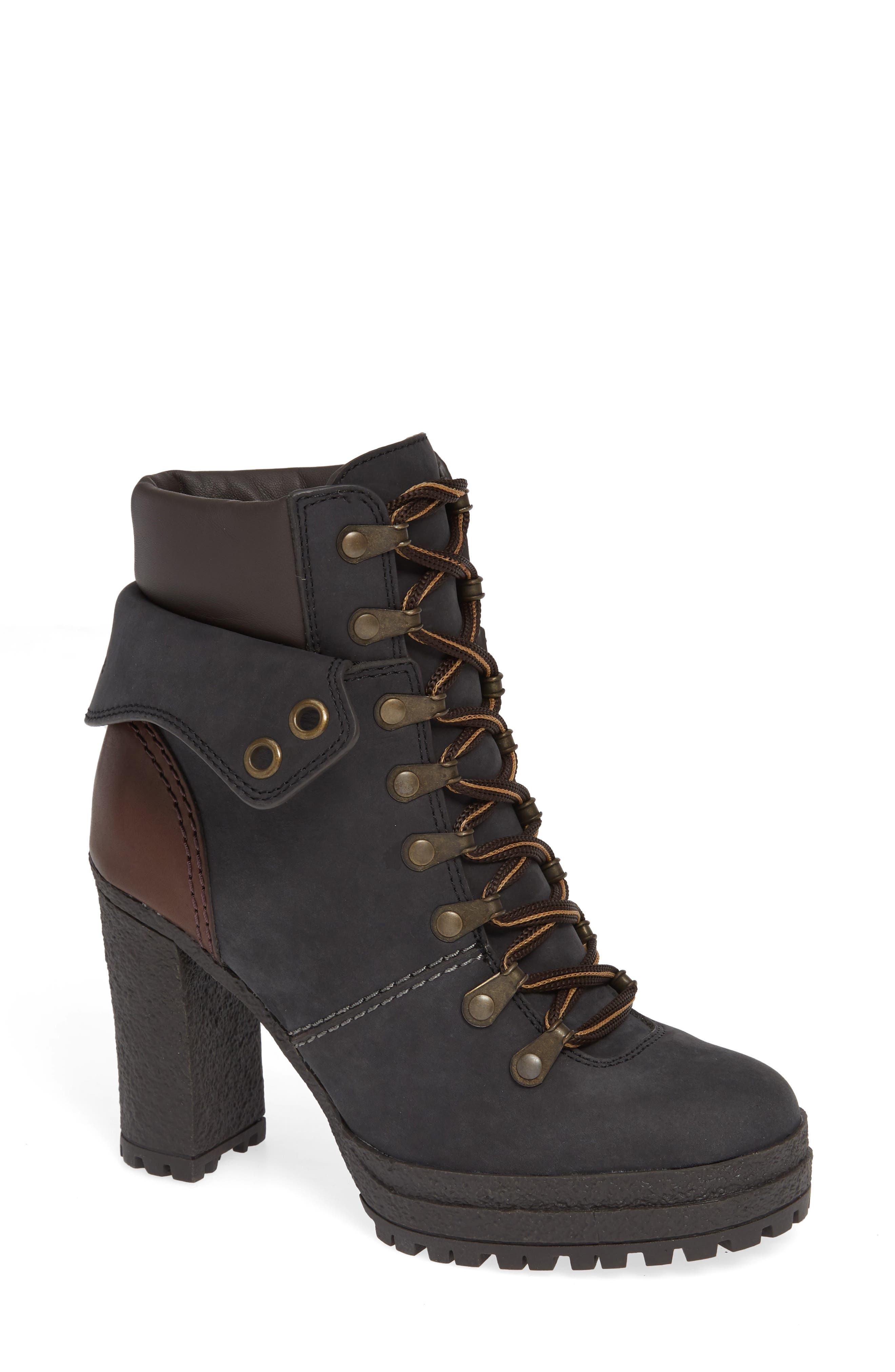 Eileen Platform Boot,                             Main thumbnail 1, color,                             BLACK