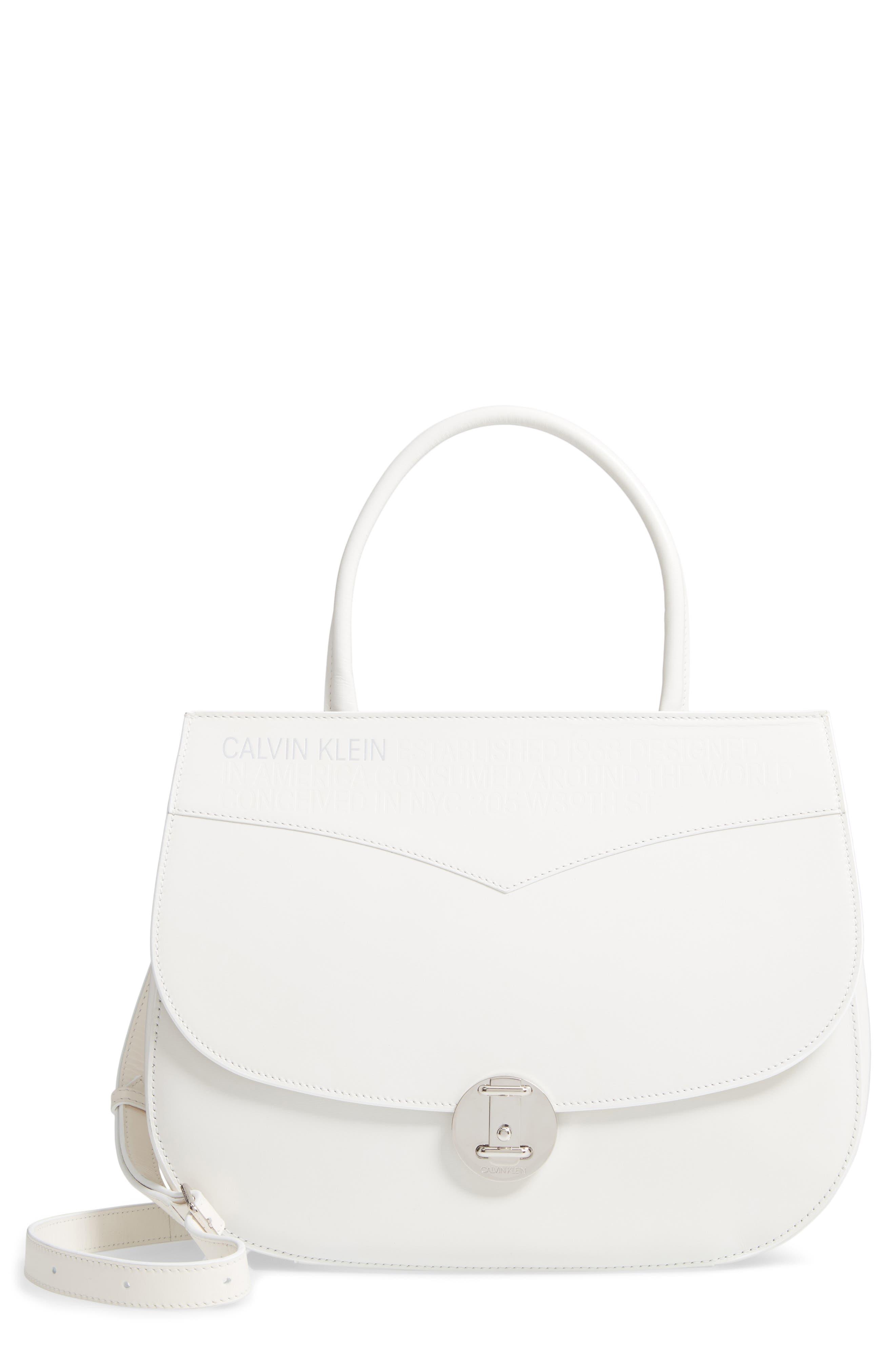 Top Handle Round Lock Shoulder Bag,                             Main thumbnail 1, color,                             101