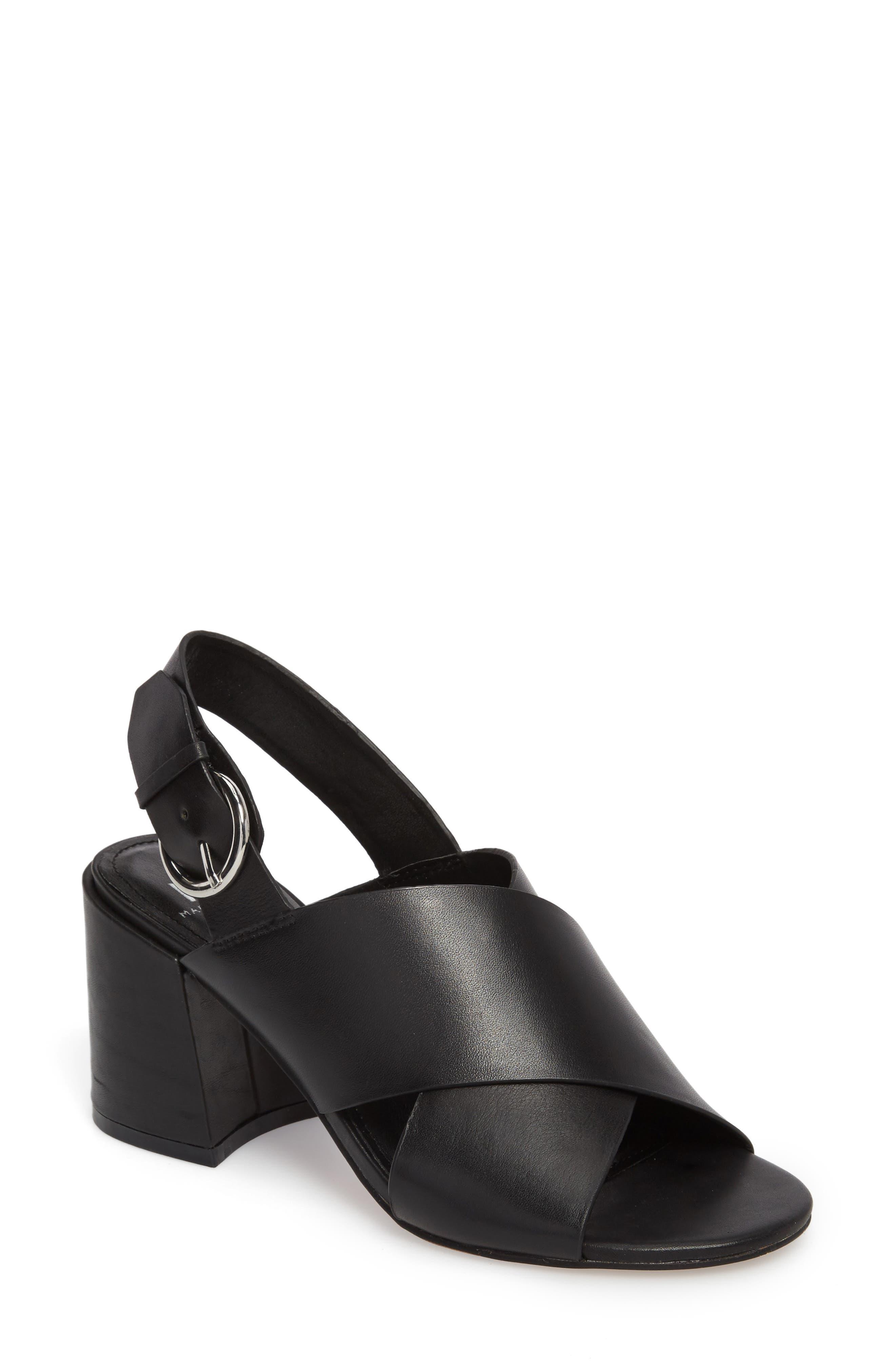 Hocie Slingback Sandal,                         Main,                         color, 001