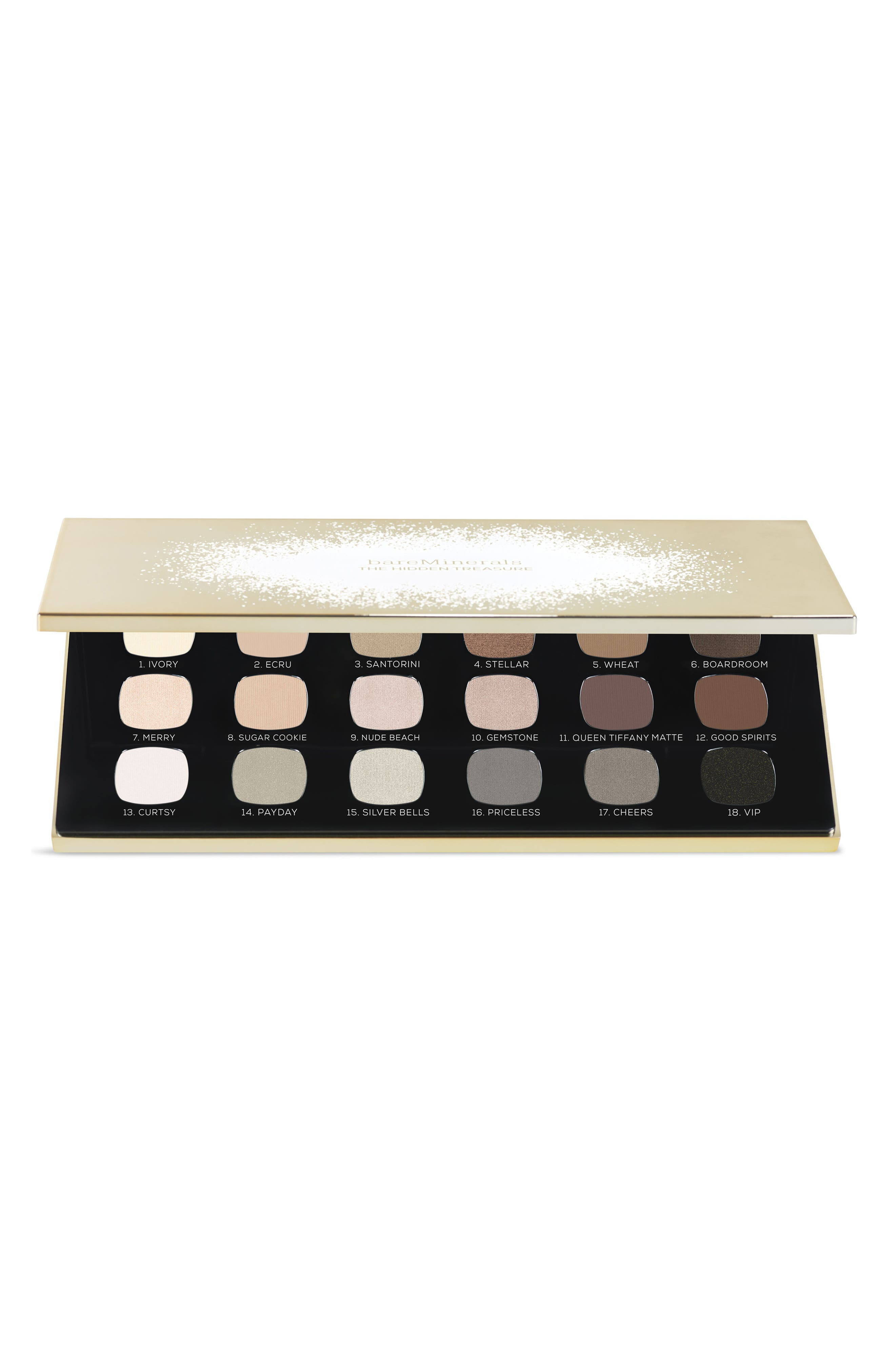 18 Necessary Neutral READY Eyeshadows,                             Alternate thumbnail 3, color,                             NO COLOR