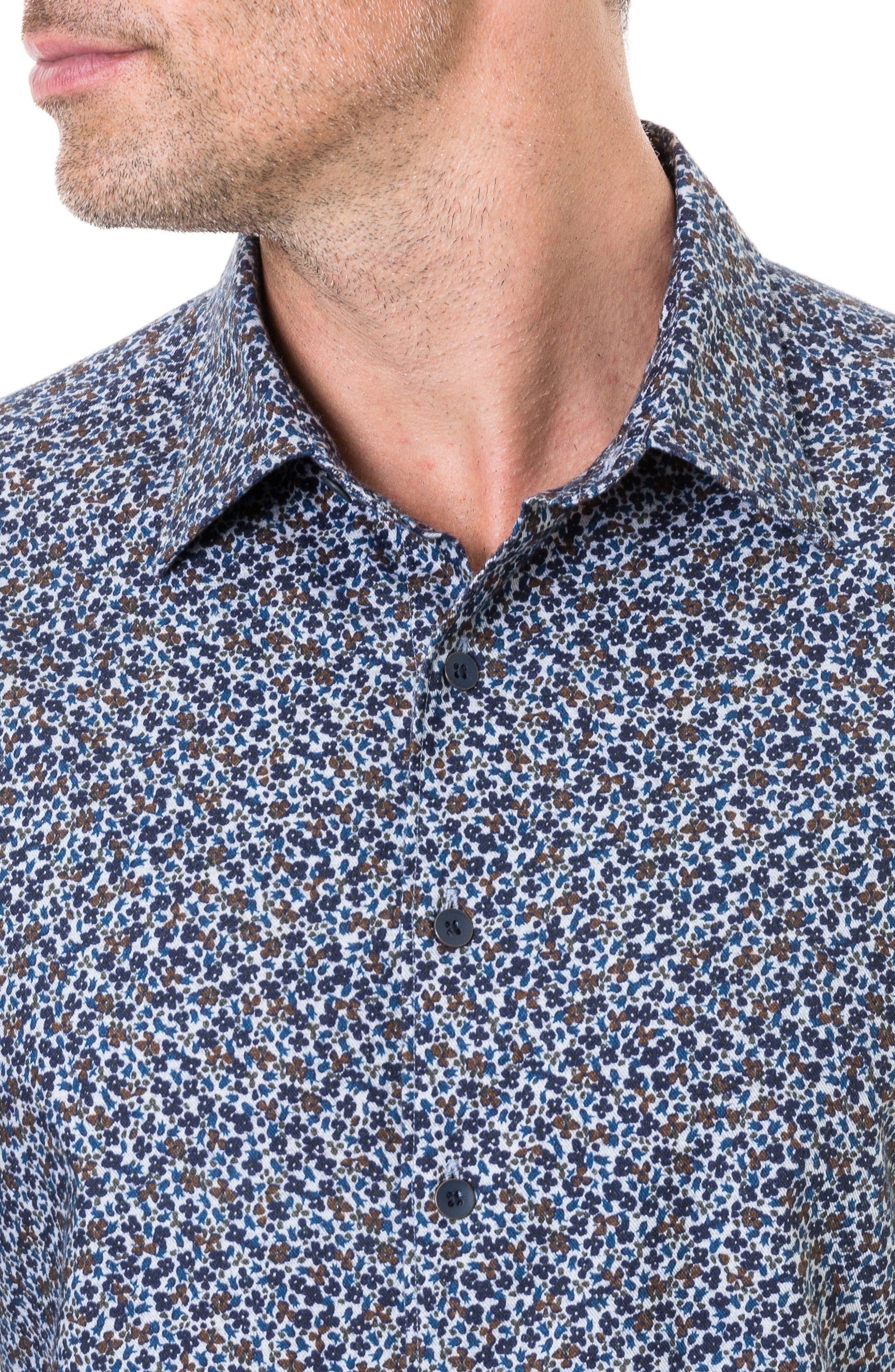 Freys Crescent Regular Fit Flannel Sport Shirt,                             Alternate thumbnail 2, color,                             BLUEBERRY