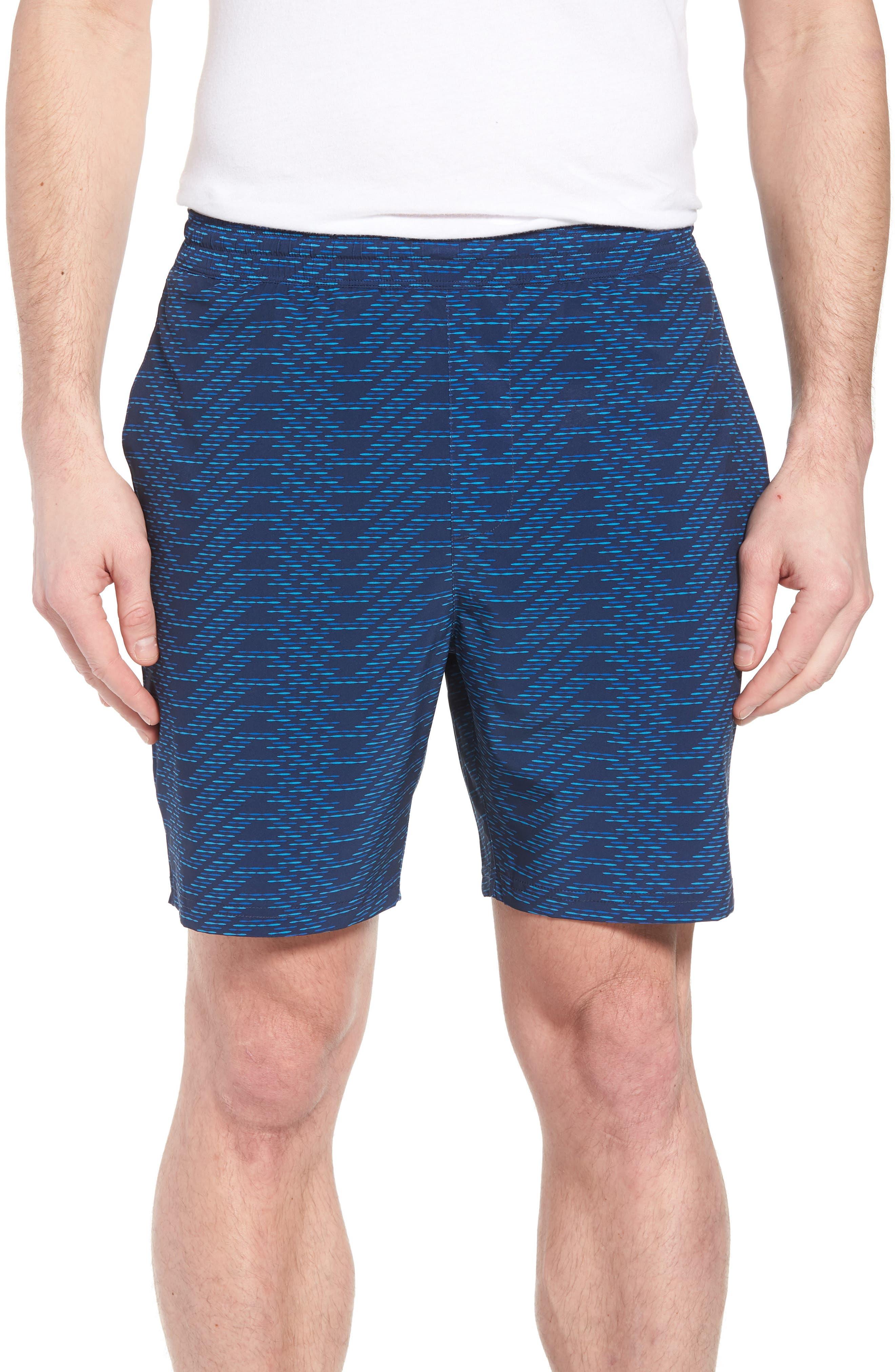 Stretch Shorts,                         Main,                         color, CIRCUIT BREAKER