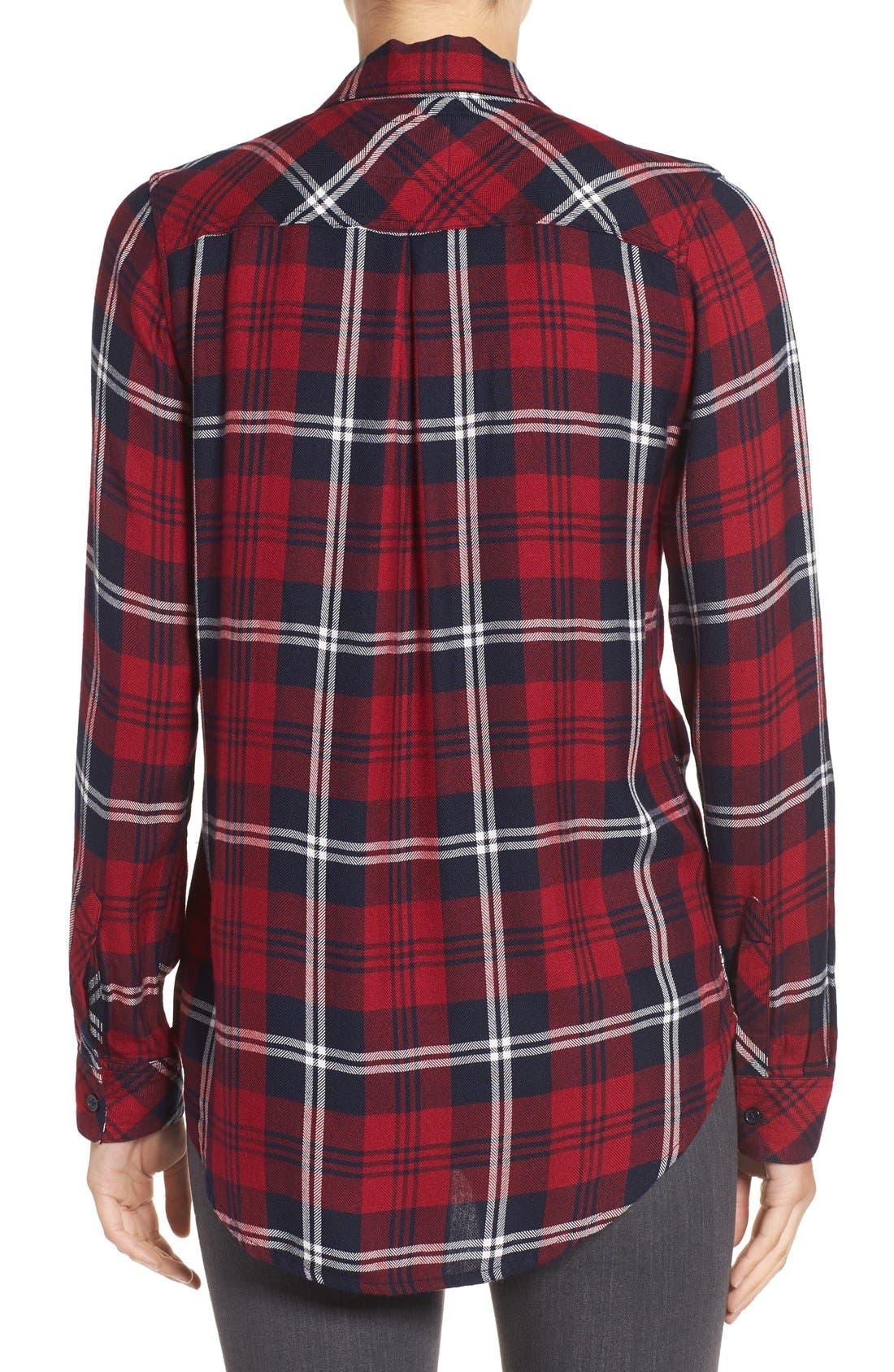 Hunter Plaid Shirt,                             Alternate thumbnail 400, color,