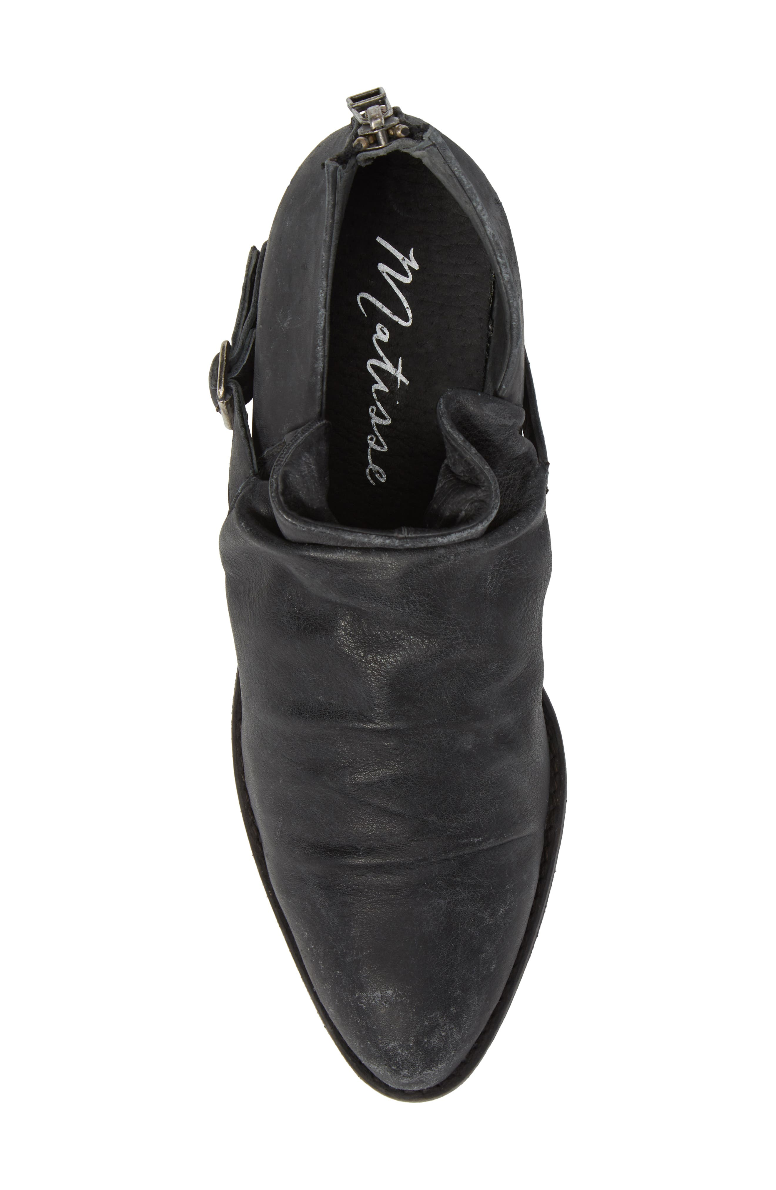 Wills Ruched Bootie,                             Alternate thumbnail 5, color,                             001