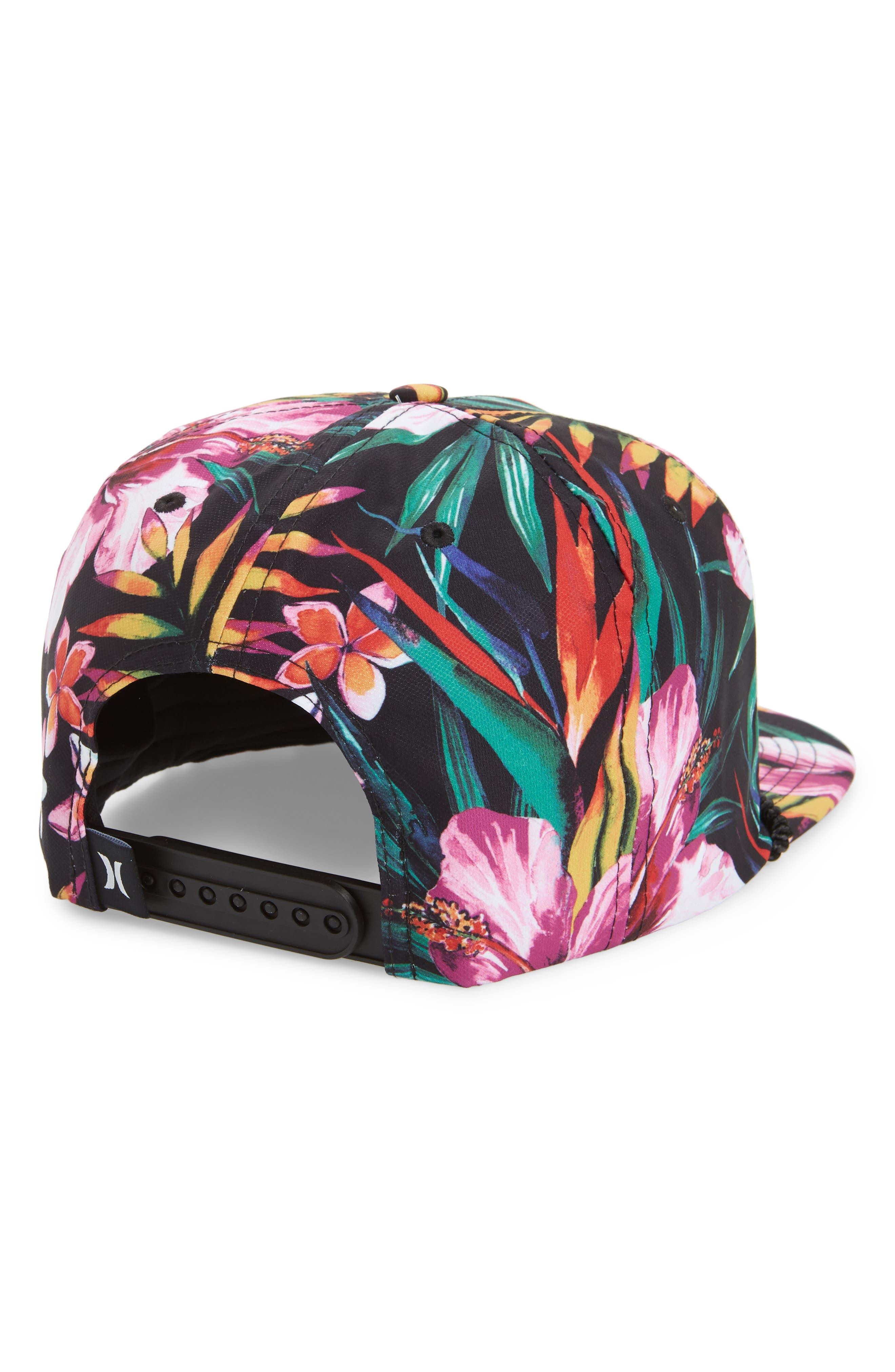 Dri-FIT Garden Print Hat,                             Alternate thumbnail 2, color,                             010