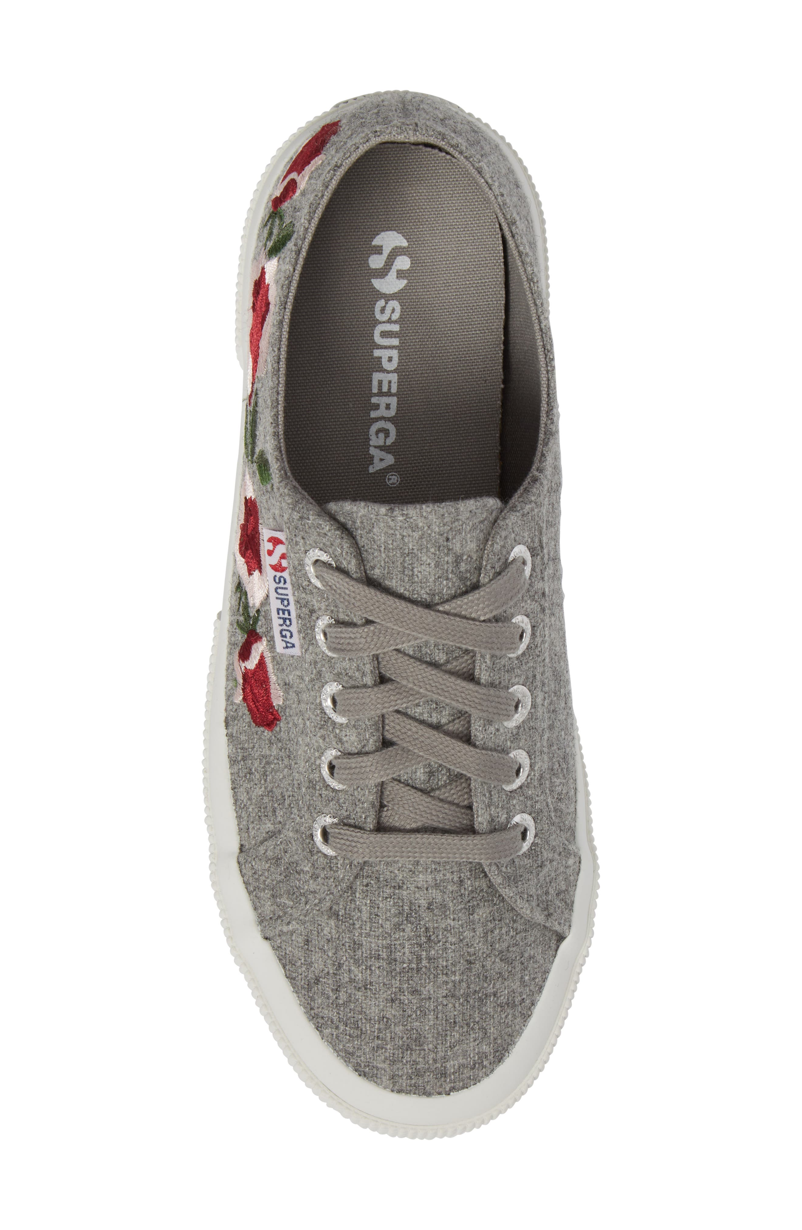2750 Embroidered Sneaker,                             Alternate thumbnail 5, color,                             022
