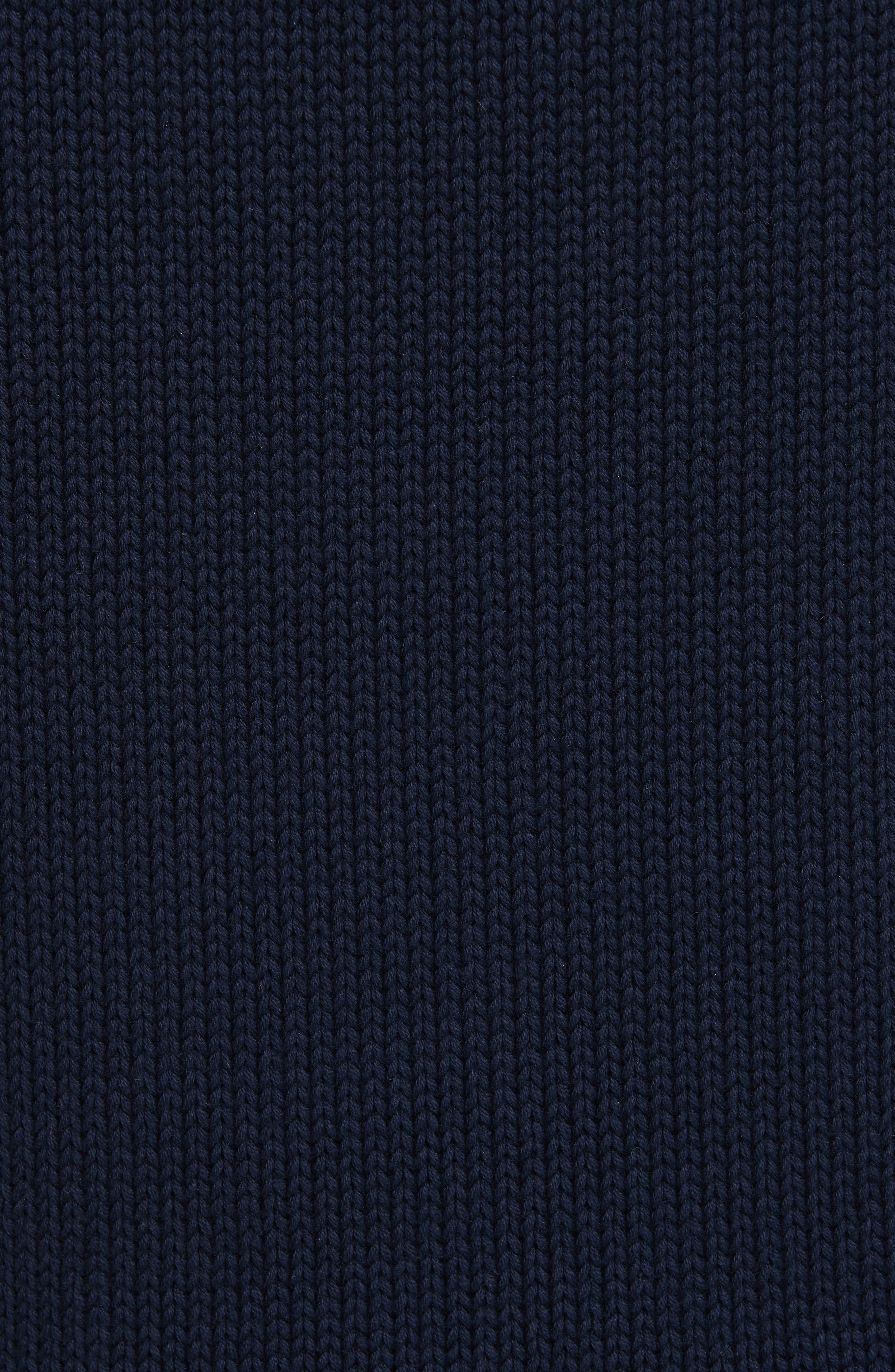 Bear Sweater,                             Alternate thumbnail 5, color,                             NAVY MULTI