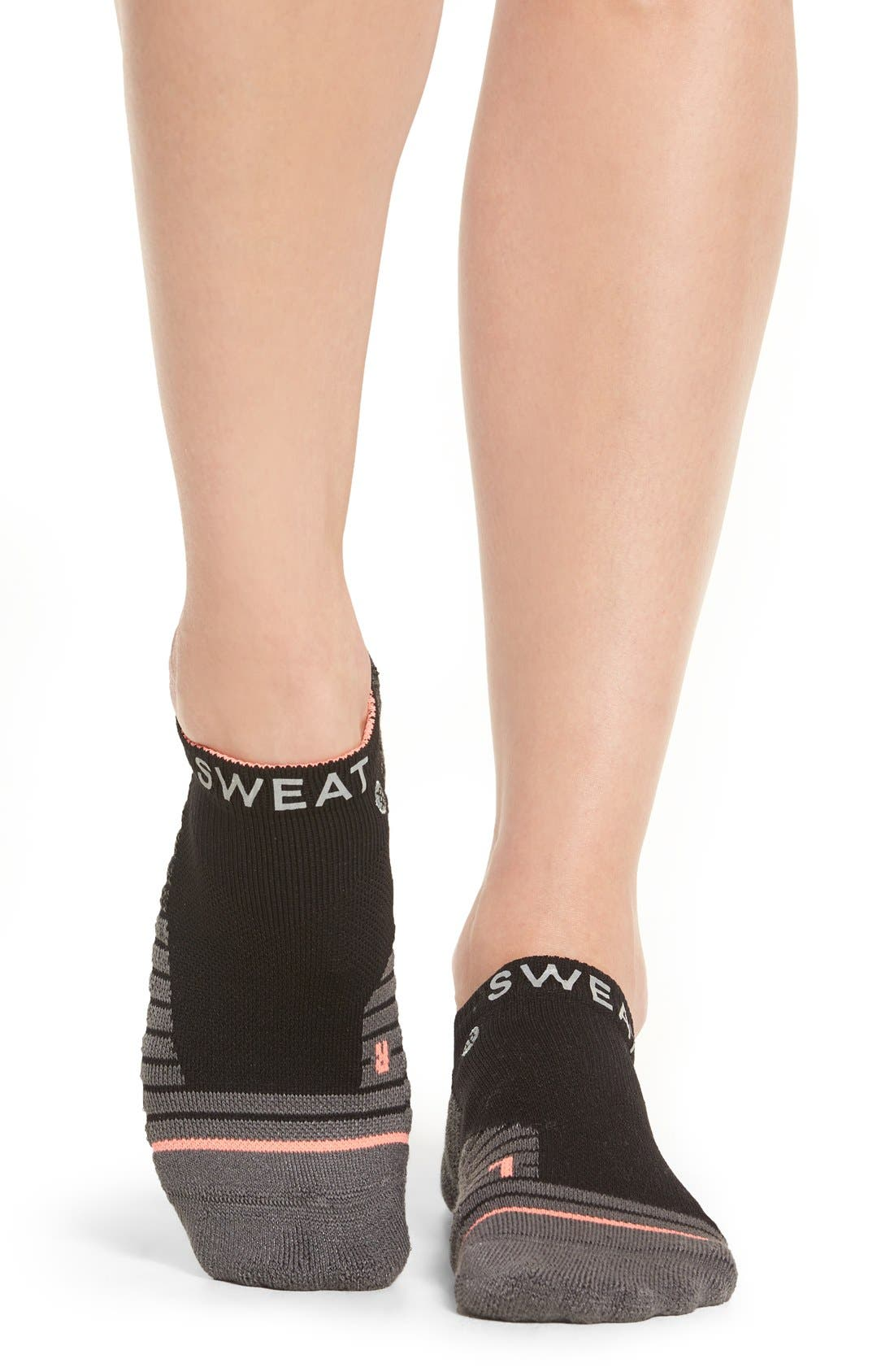 Reflective Sweat Socks,                             Alternate thumbnail 3, color,                             001