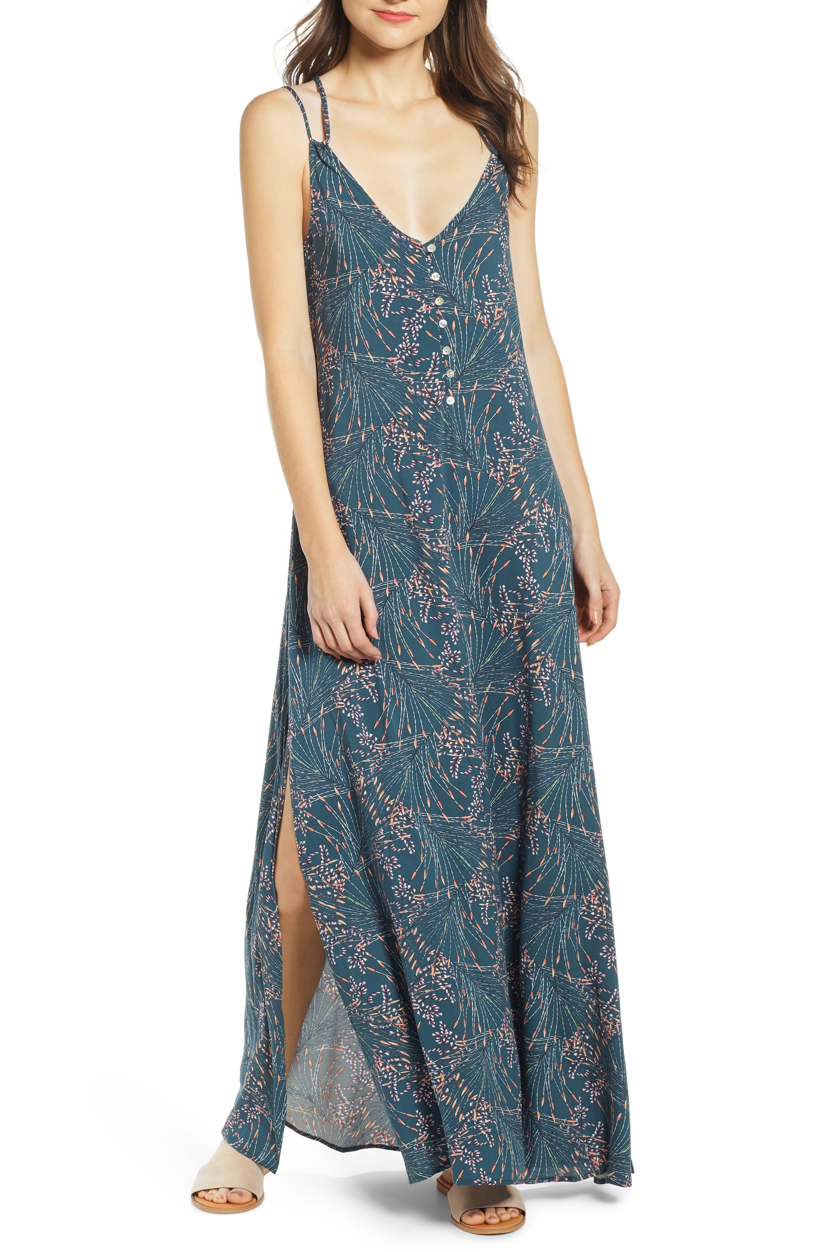 O'NEILL Breanna Maxi Dress, Main, color, STARGAZER