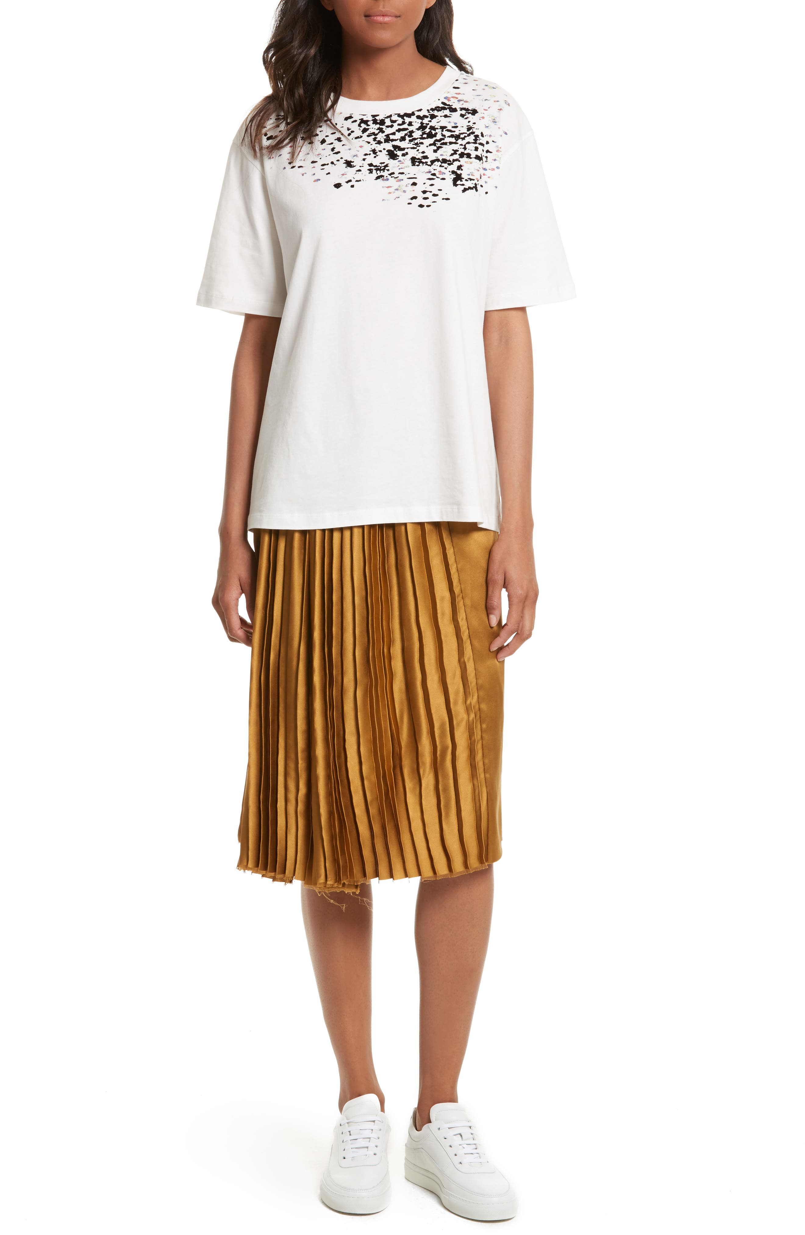 PUBLIC SCHOOL,                             Gamil Pleated Silk Skirt,                             Alternate thumbnail 6, color,                             200