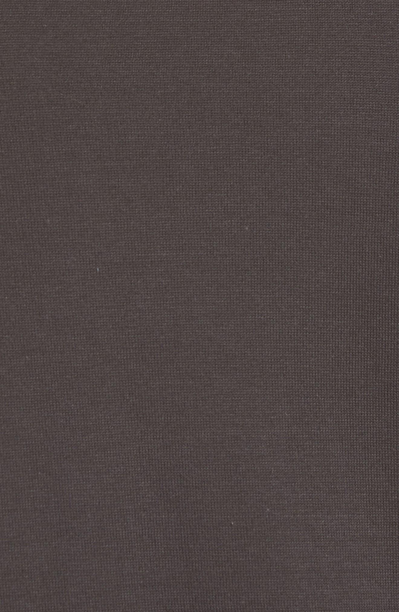 Slim Fit Pima Cotton Sweater T-Shirt,                             Alternate thumbnail 5, color,                             020