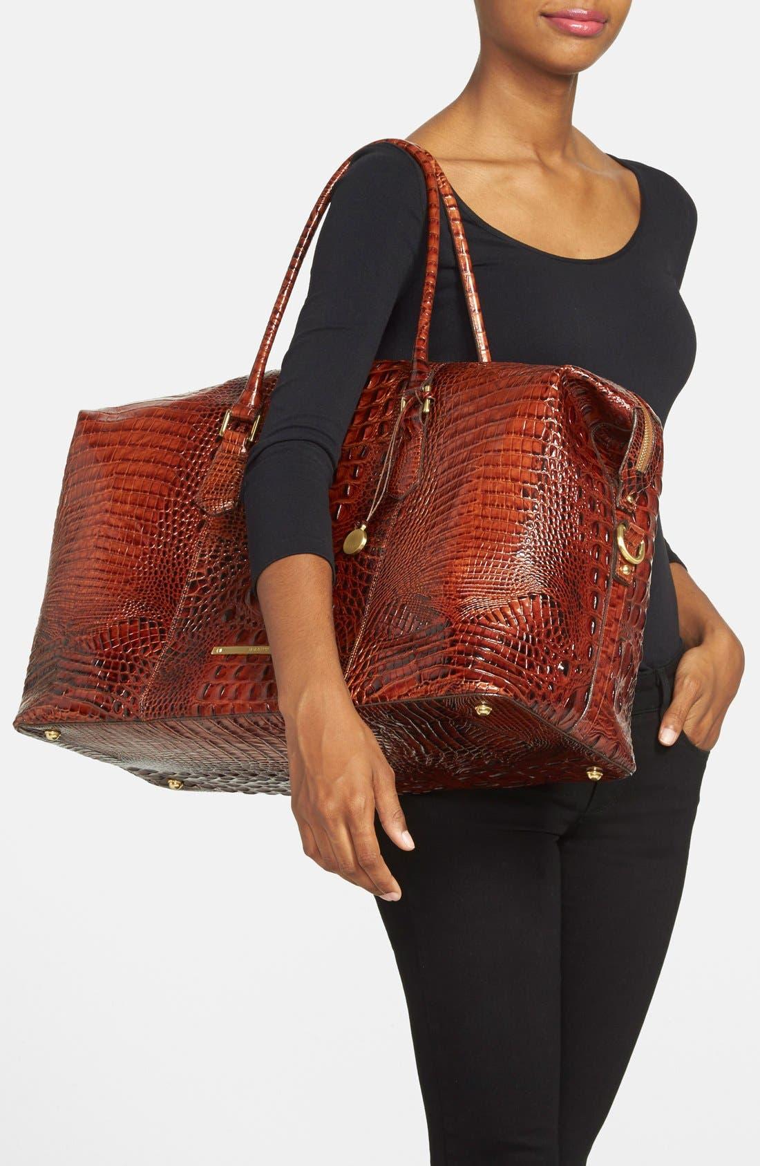 'Duxbury' Leather Travel Bag,                             Alternate thumbnail 16, color,