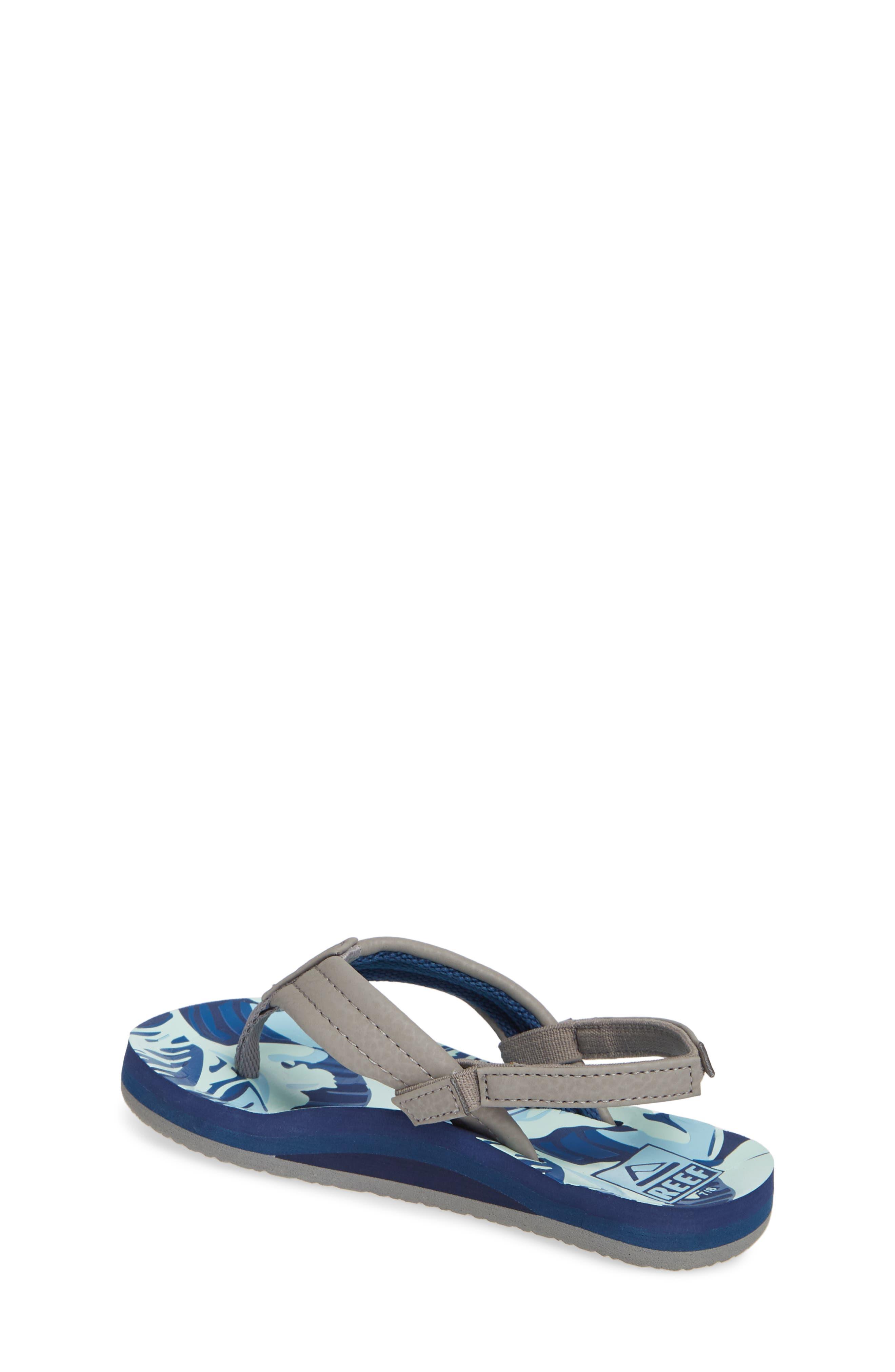 'Ahi' Sandal,                             Alternate thumbnail 2, color,                             BLUE