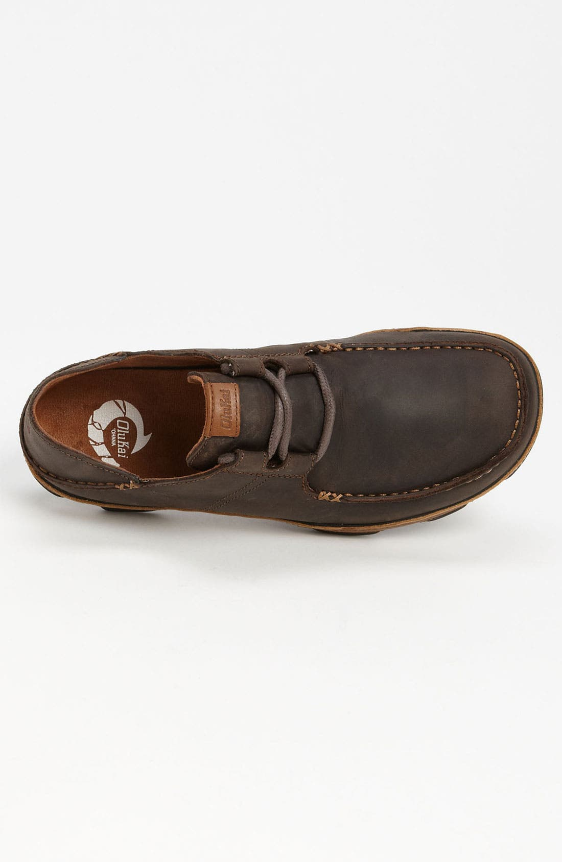'Ohana' Lace Up,                             Alternate thumbnail 4, color,                             DARK WOOD / TOFFEE
