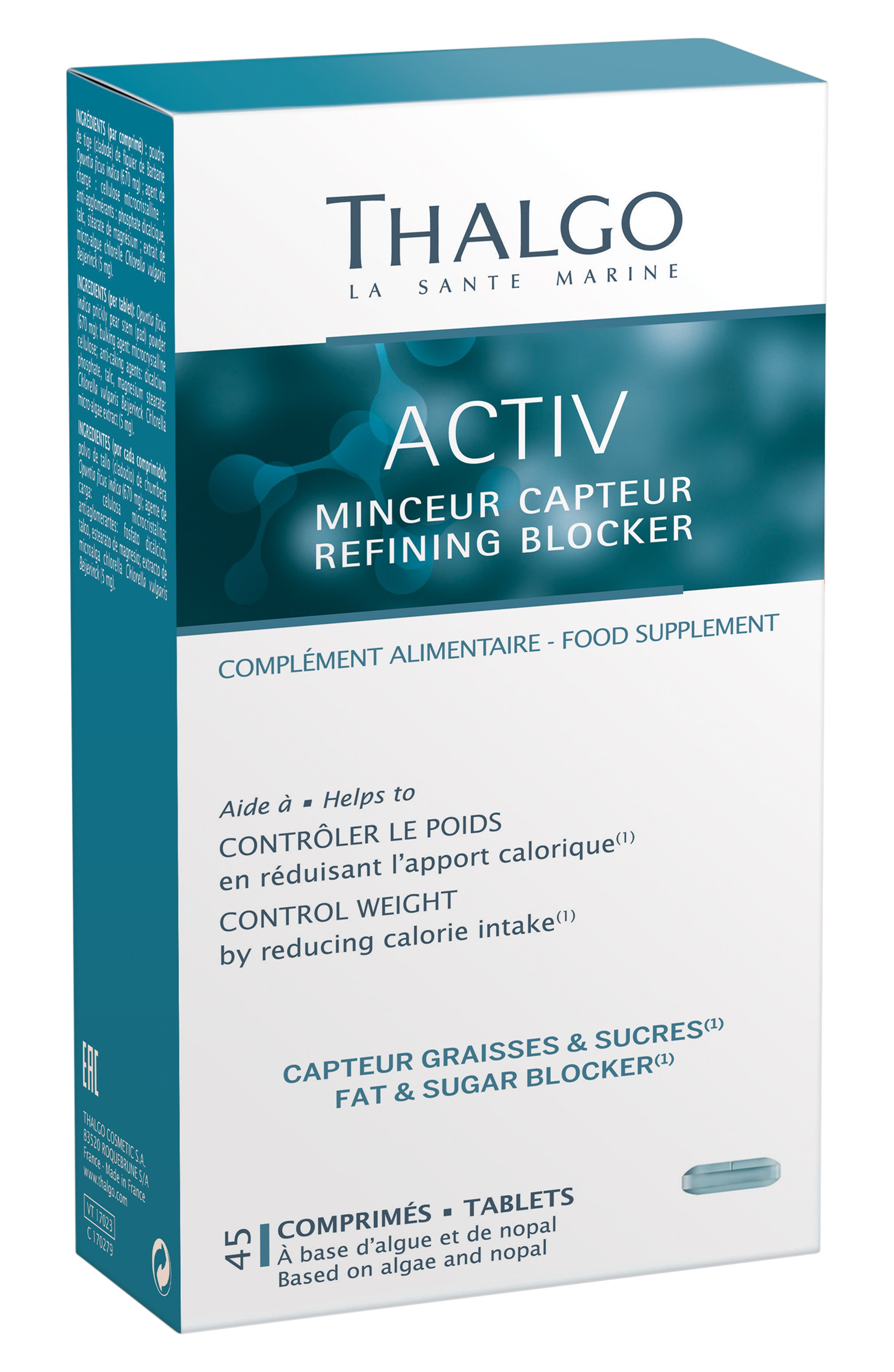 ACTIV Refining Blocker Dietary Supplement,                         Main,                         color, NO COLOR