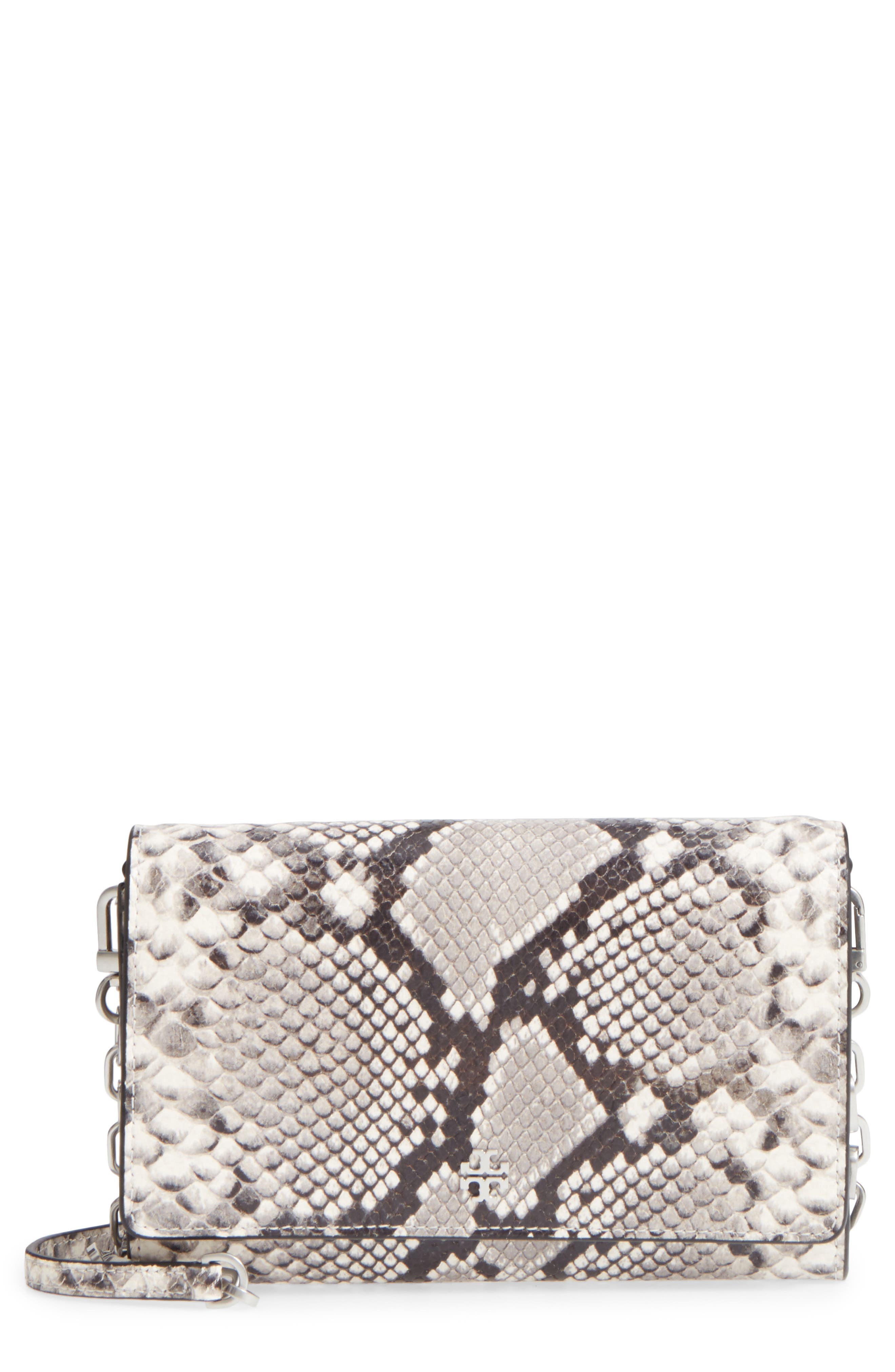Robinson Leather Wallet on a Chain,                         Main,                         color, 001