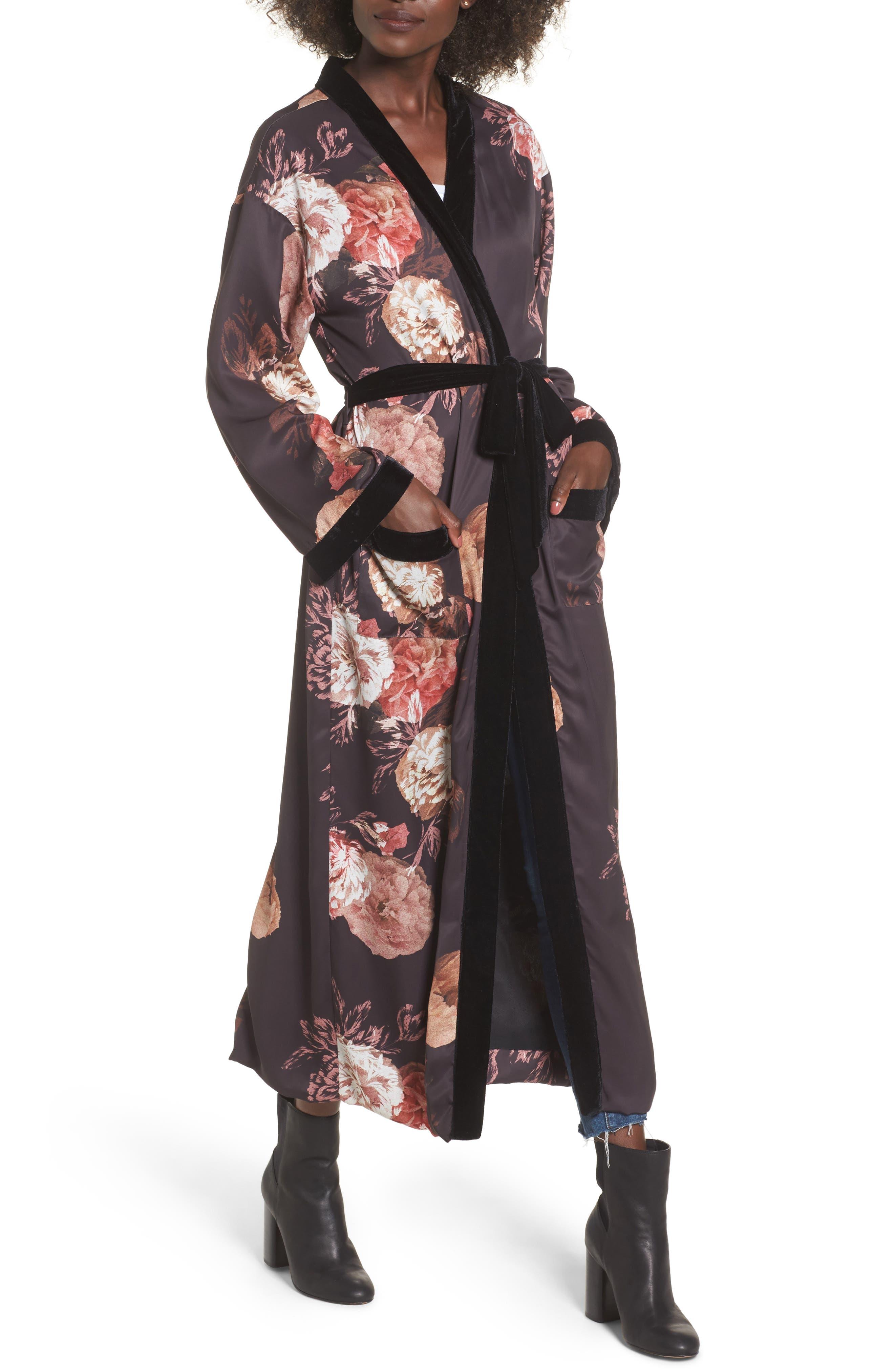 Floral Kimono,                         Main,                         color,