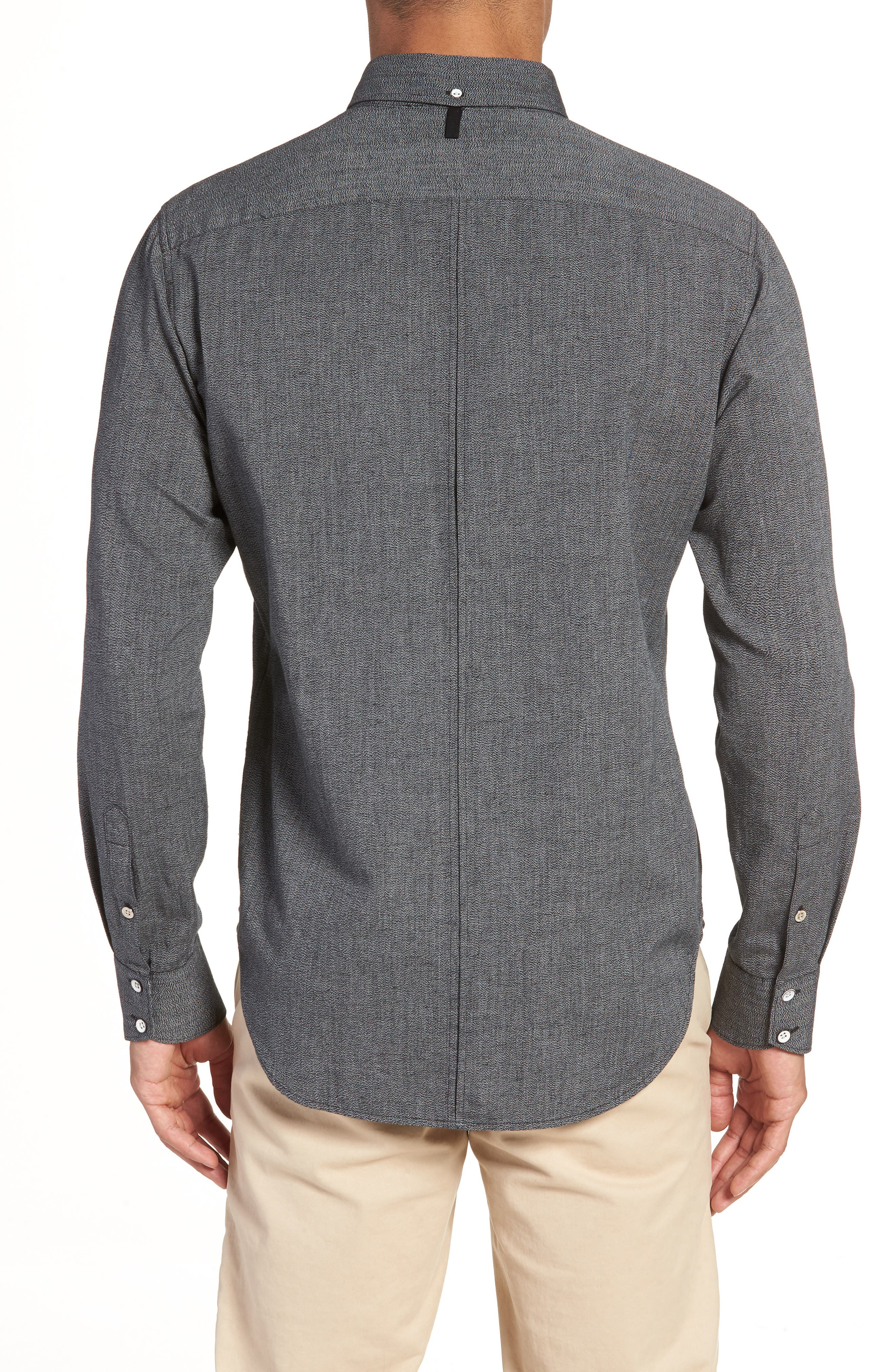 RAG & BONE,                             Tomlin Slim Fit Sport Shirt,                             Alternate thumbnail 2, color,                             020