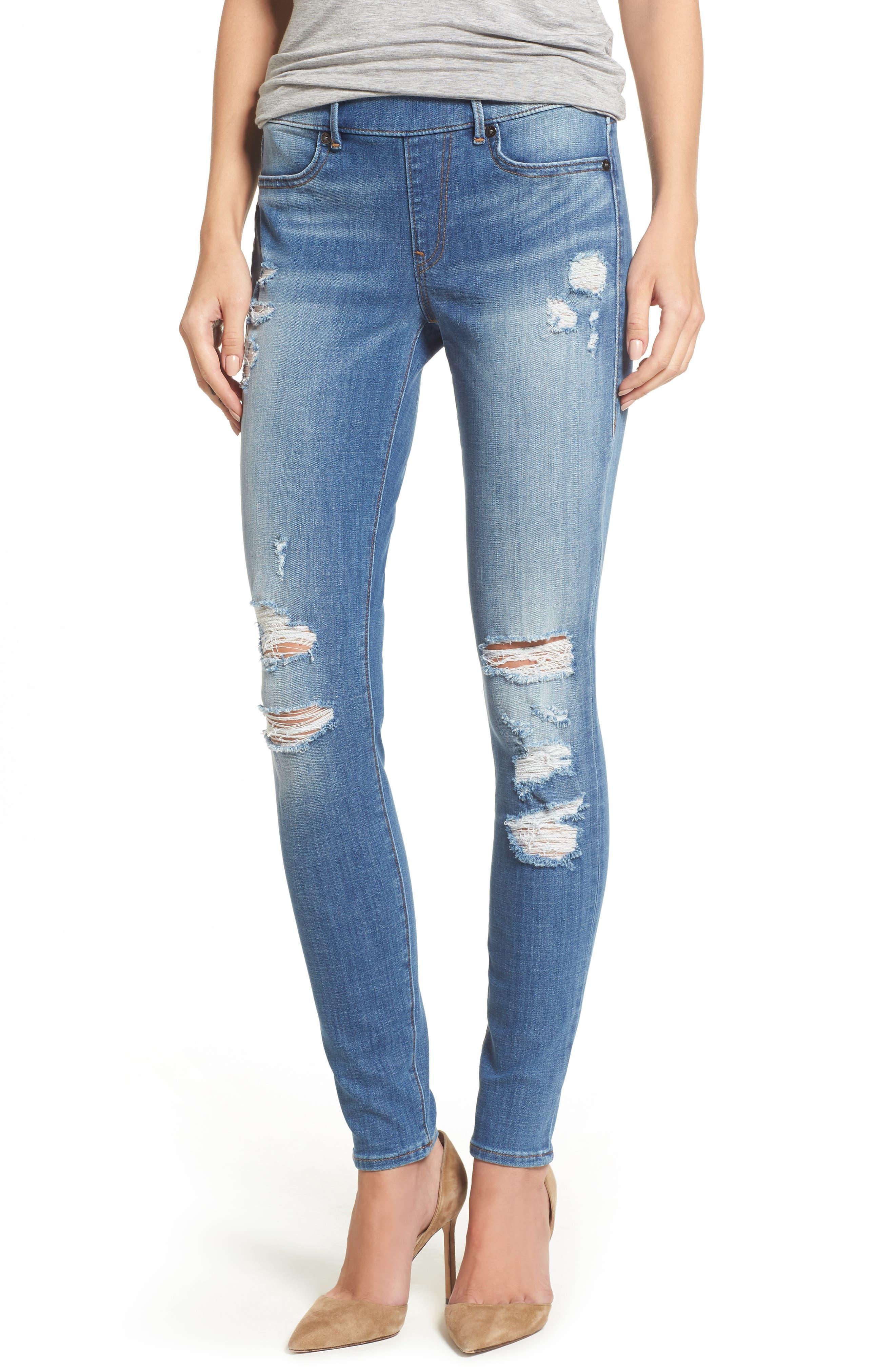 Jennie Runway Curvy Skinny Jeans,                         Main,                         color, 400