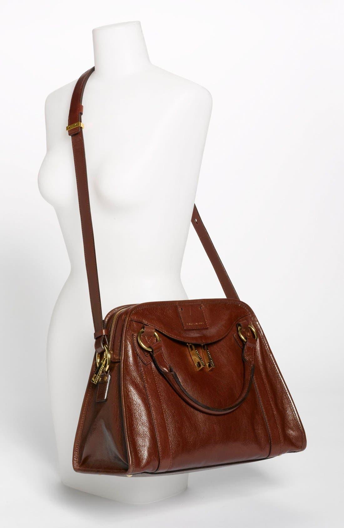 'Classic Wellington' Leather Satchel,                             Alternate thumbnail 29, color,