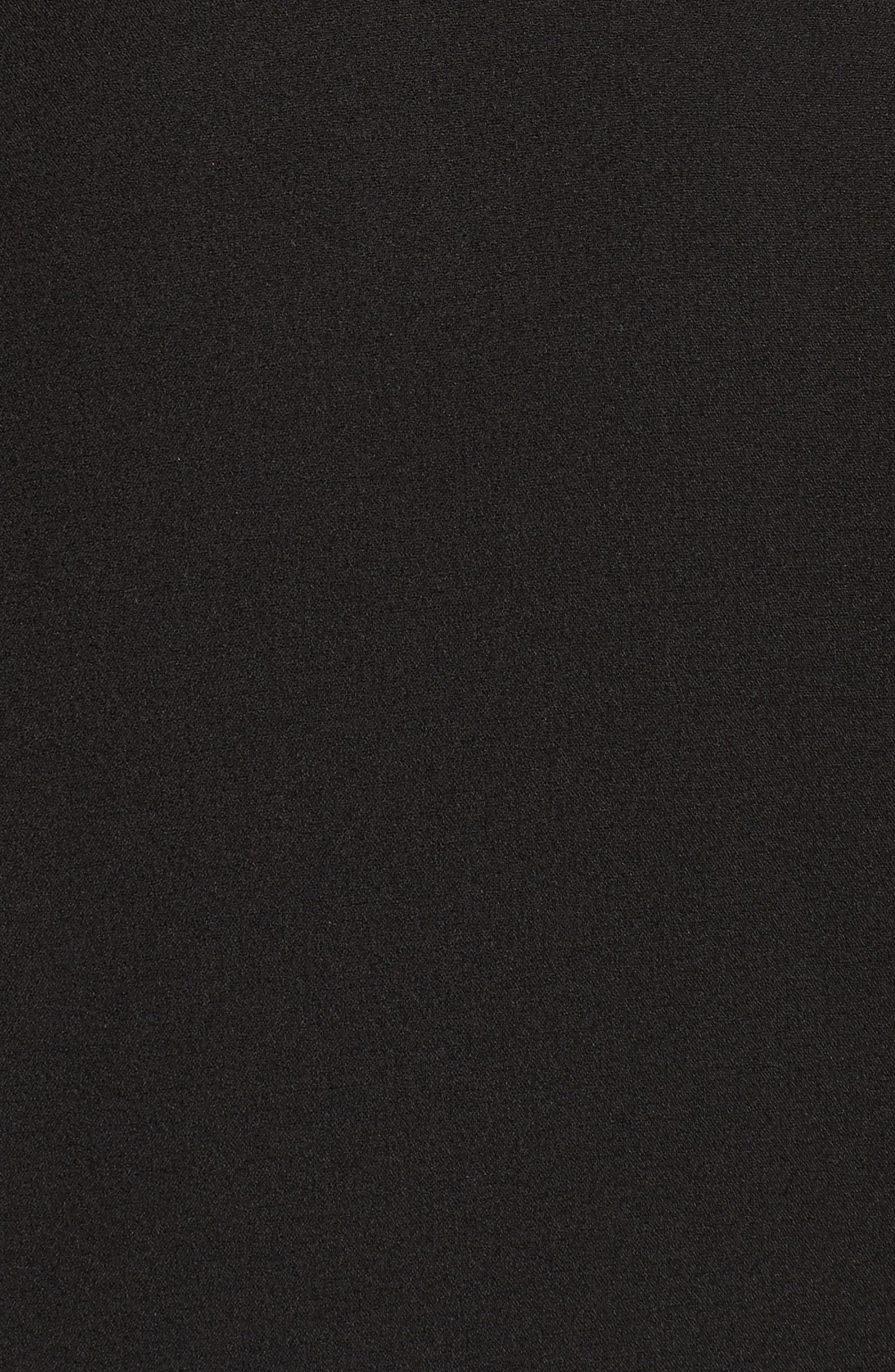 Undress Me Dress,                             Alternate thumbnail 6, color,                             BLACK