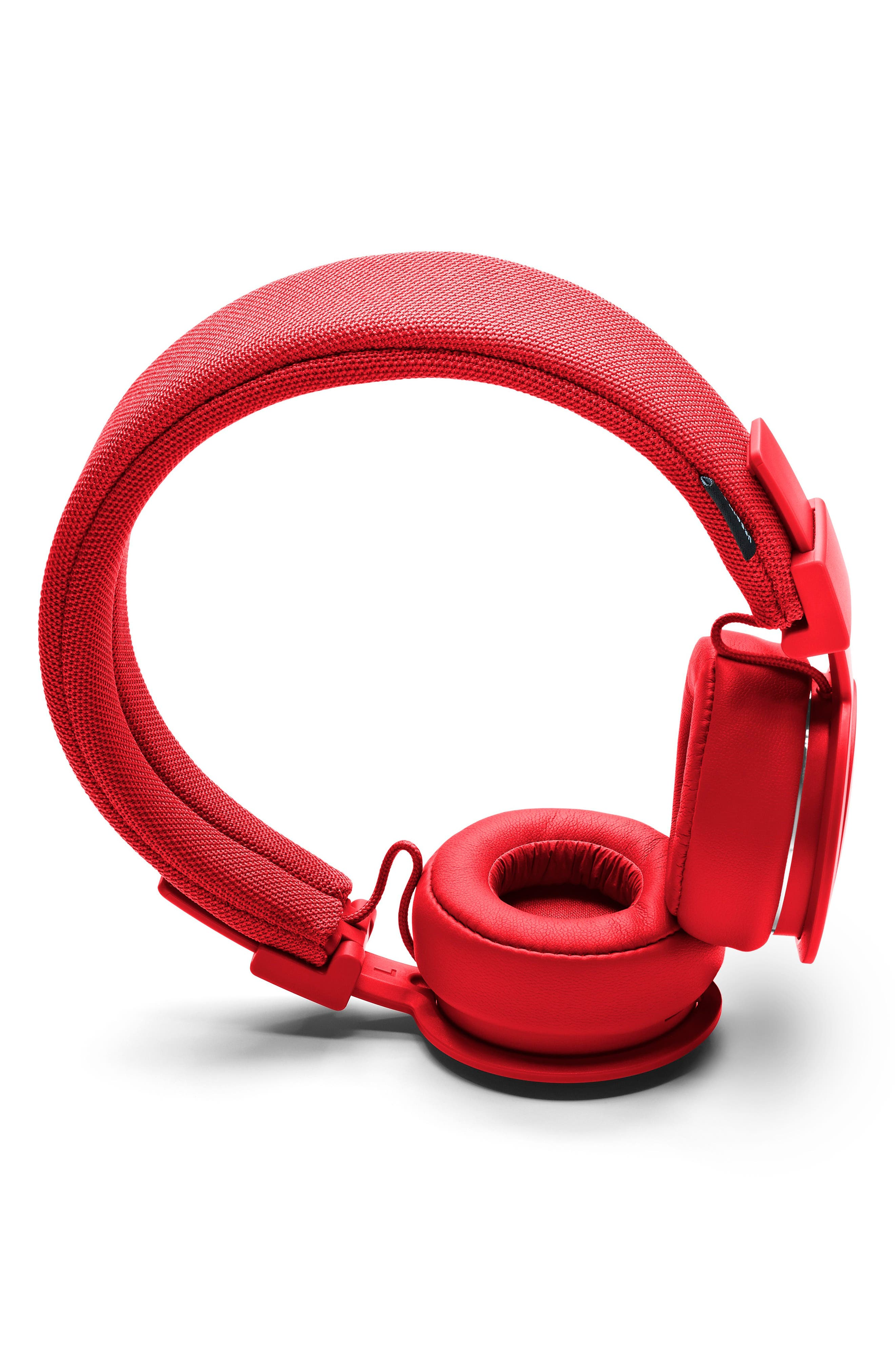'Plattan ADV Wireless' Bluetooth<sup>®</sup> On-Ear Headphones,                             Alternate thumbnail 3, color,                             TOMATO