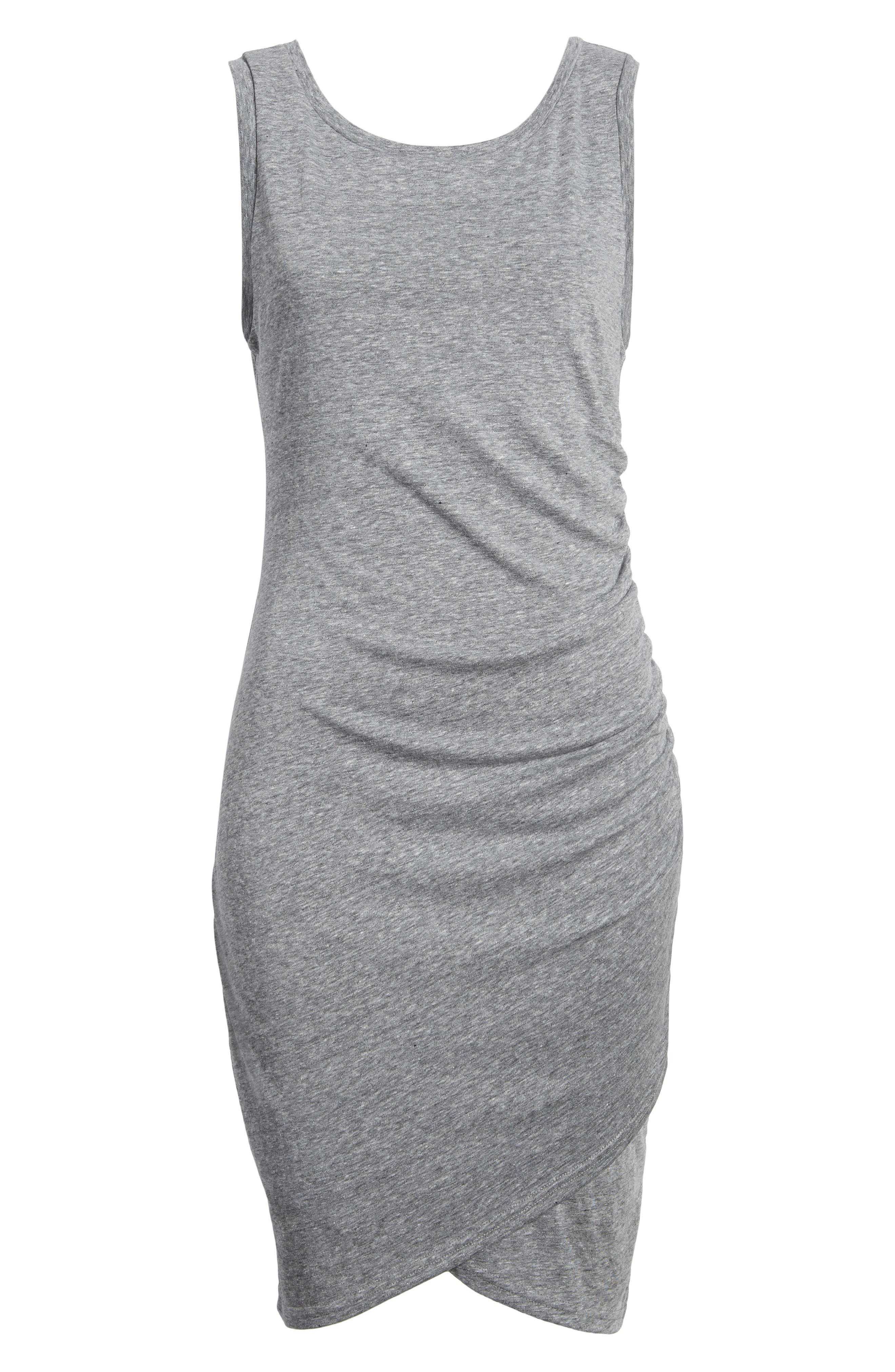 Ruched Body-Con Tank Dress,                             Alternate thumbnail 196, color,
