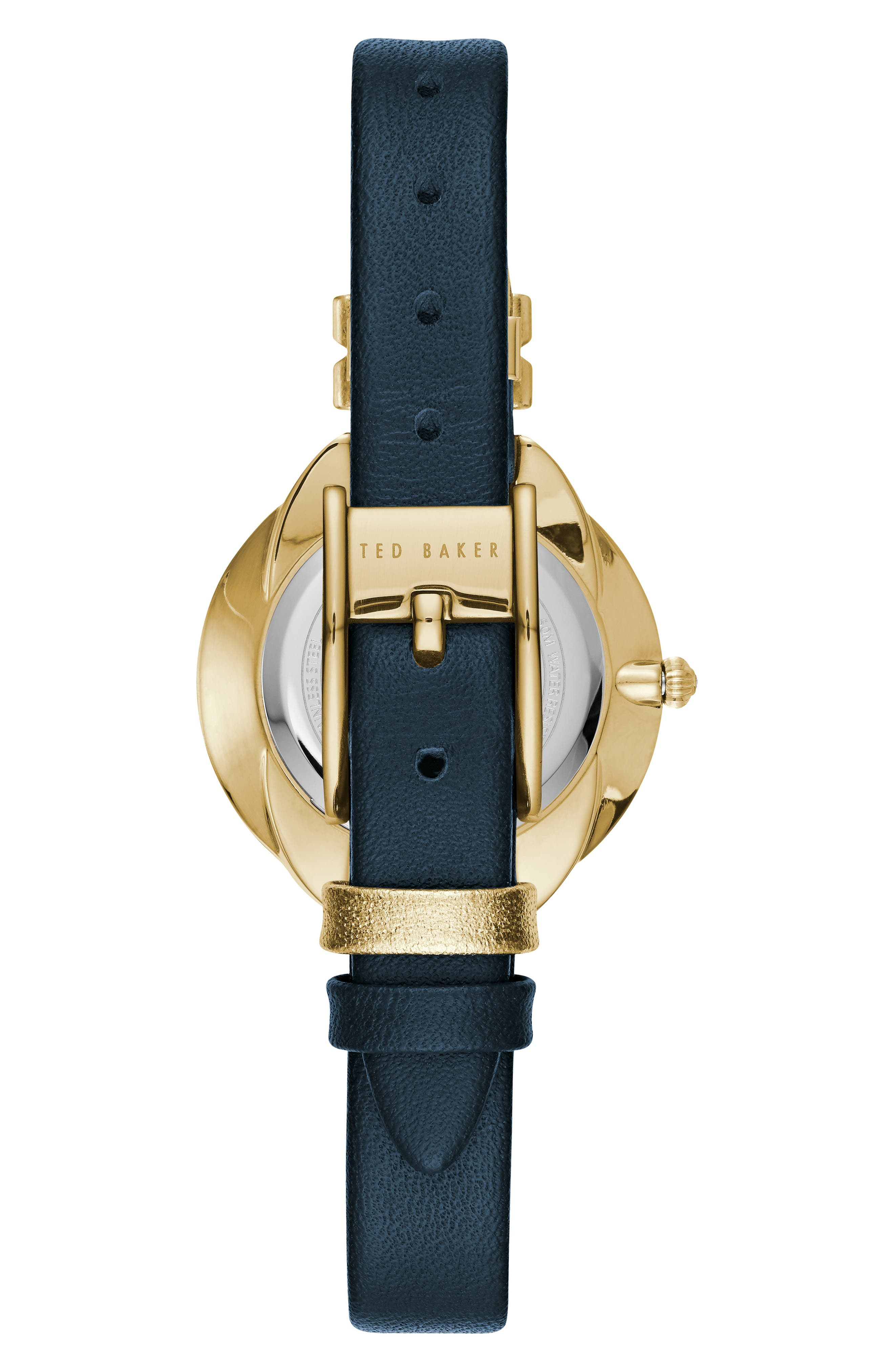Elana Leather Strap Watch, 30mm,                             Alternate thumbnail 6, color,