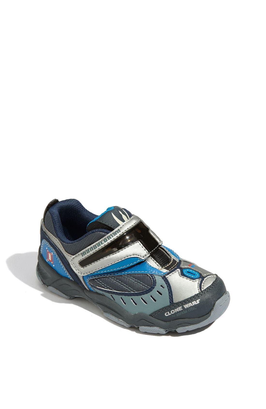 'Star Wars<sup>™</sup> - Pre Vizsla' Lighted Sneaker, Main, color, 089