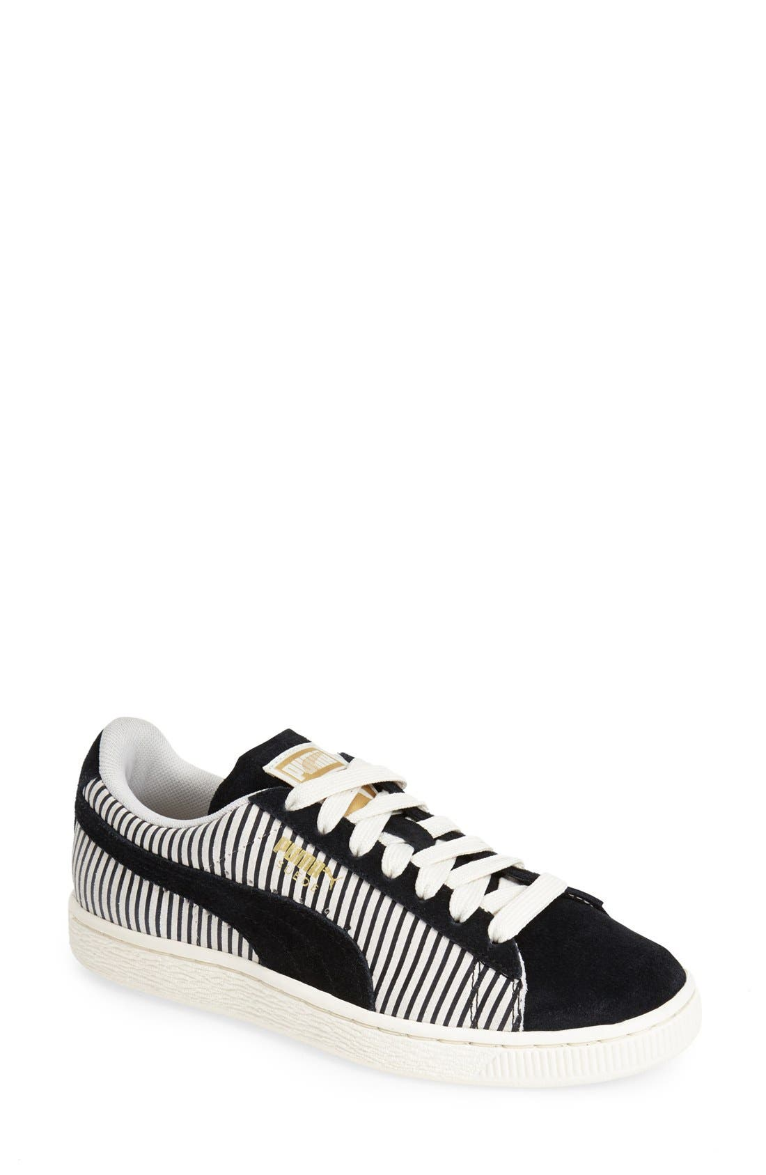 'Suede Classic' Sneaker,                             Main thumbnail 1, color,                             001