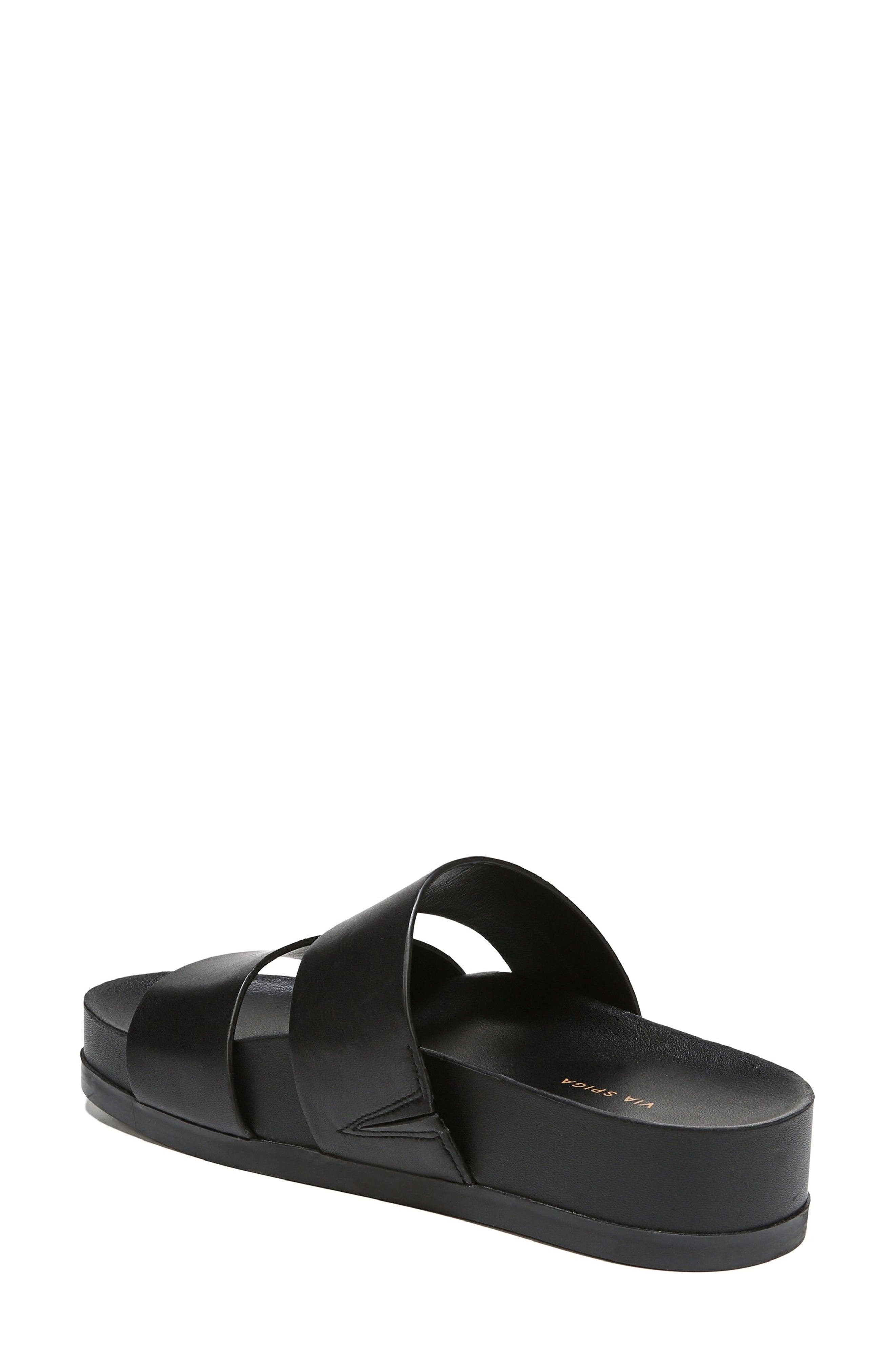 VIA SPIGA,                             Milton Slide Sandal,                             Alternate thumbnail 2, color,                             001