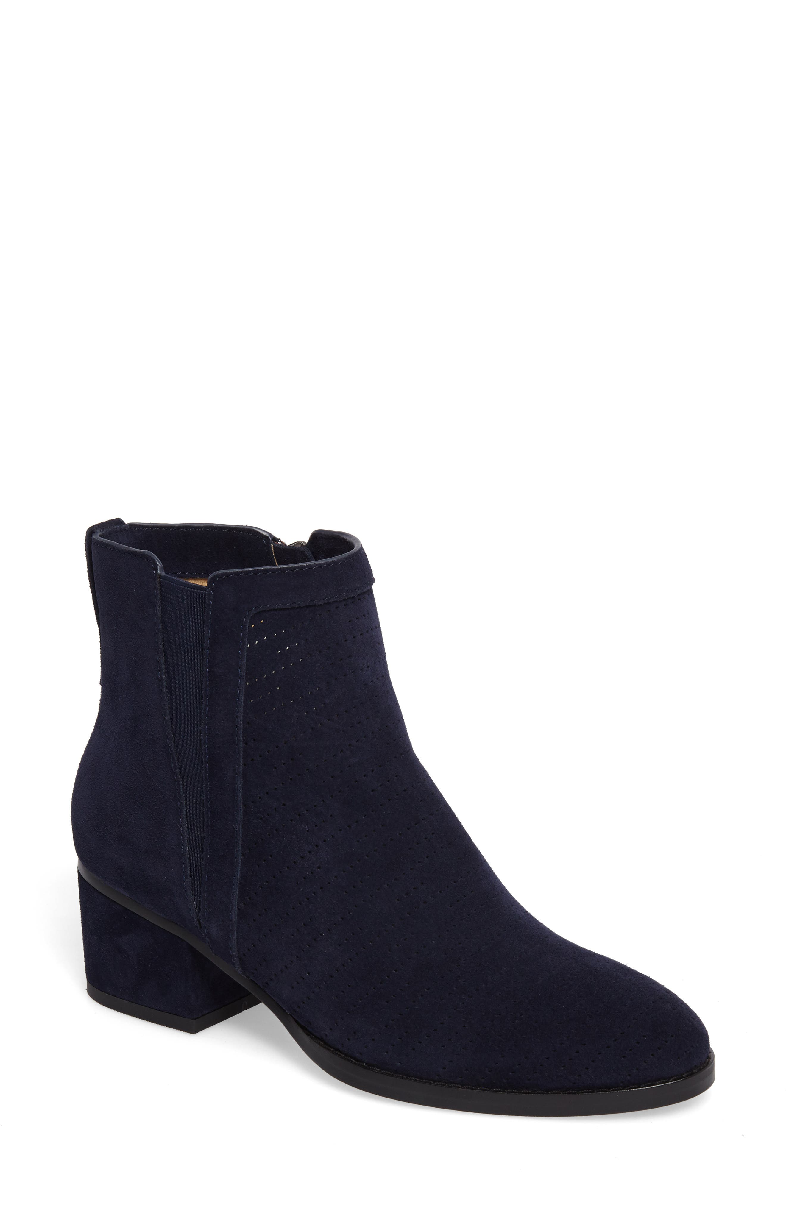 Rosalie Perforated Bootie,                             Main thumbnail 3, color,