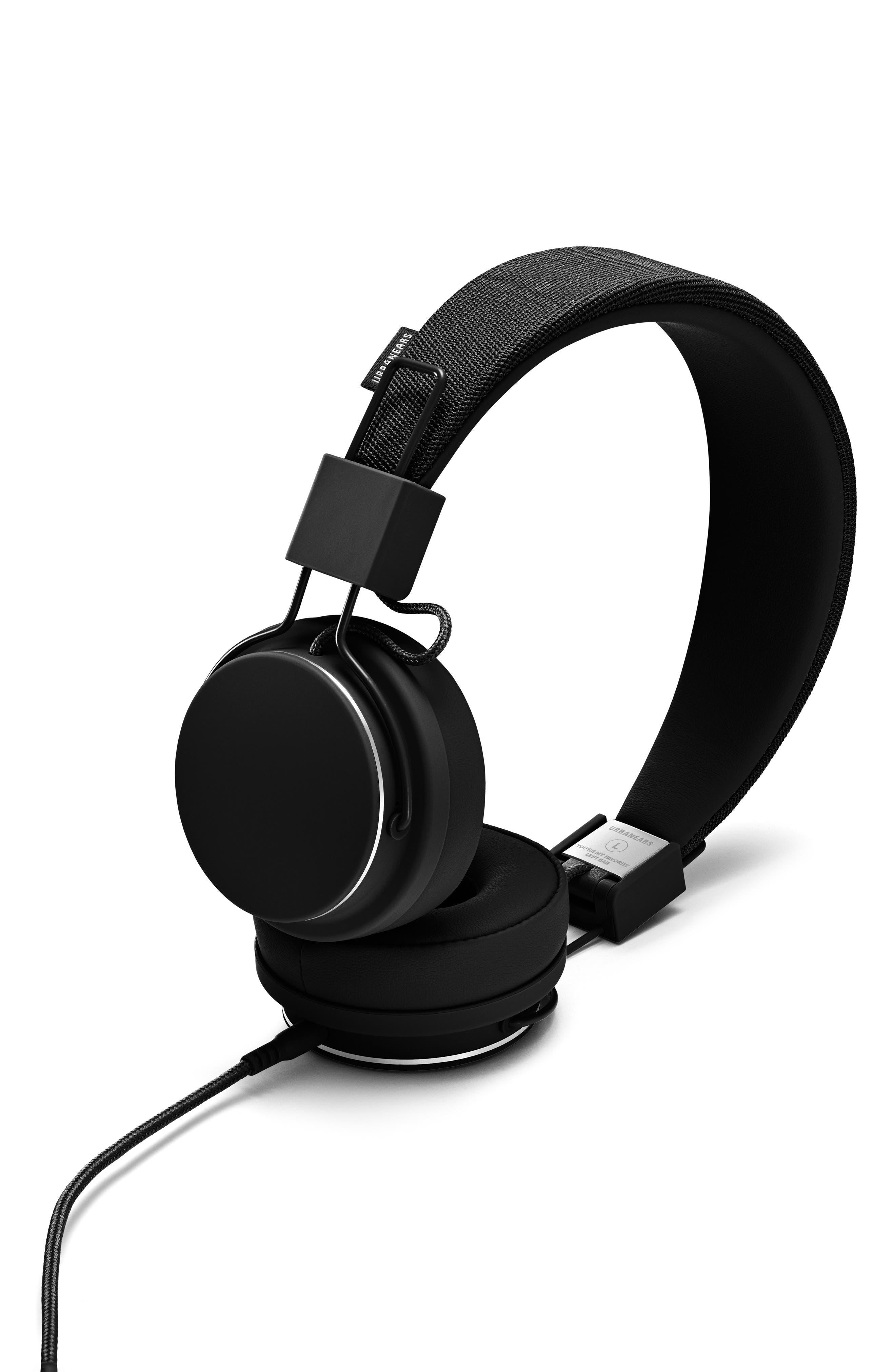Plattan II On-Ear Headphones,                         Main,                         color, BLACK