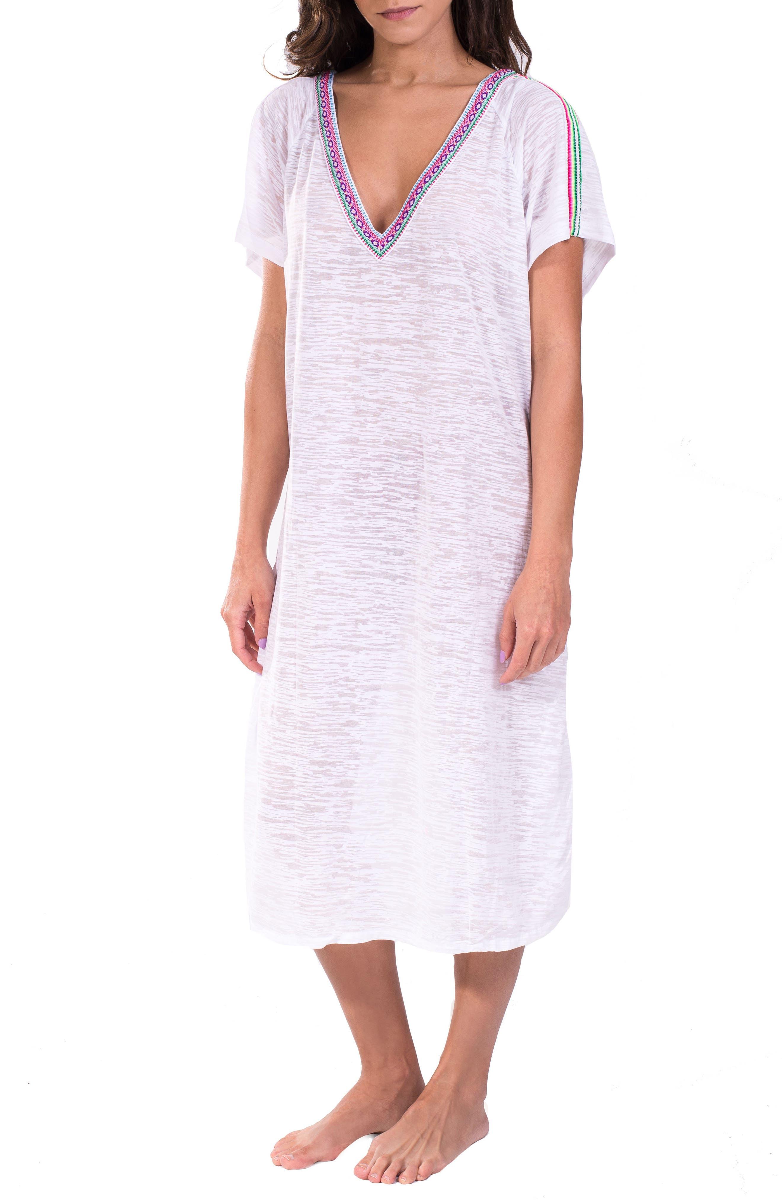 Cover-Up Midi Dress,                             Main thumbnail 2, color,