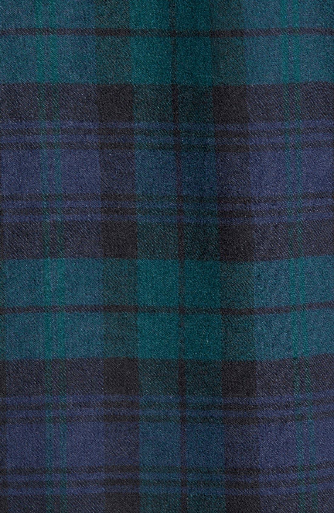 '824' Flannel Pajama Set,                             Alternate thumbnail 64, color,